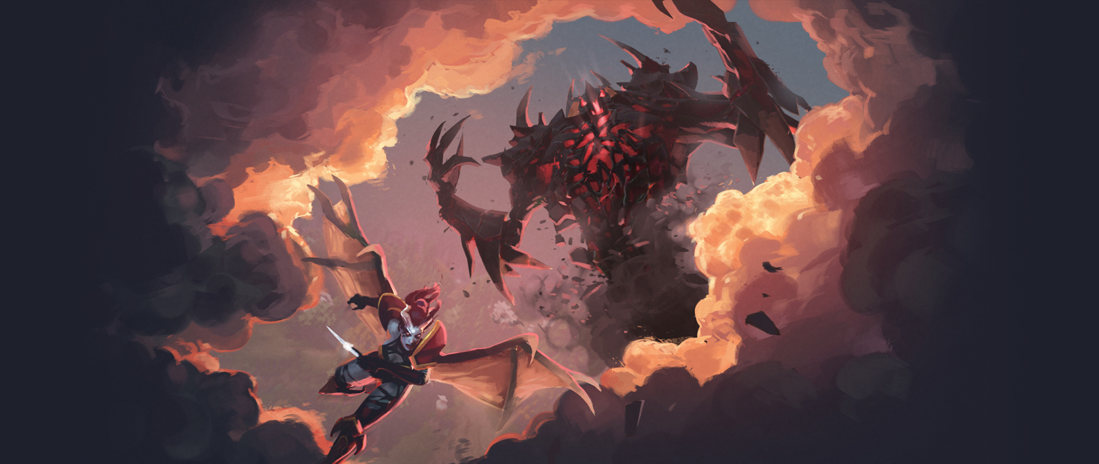 lore via artifact can be a fresh gateway into dota 2 the flying