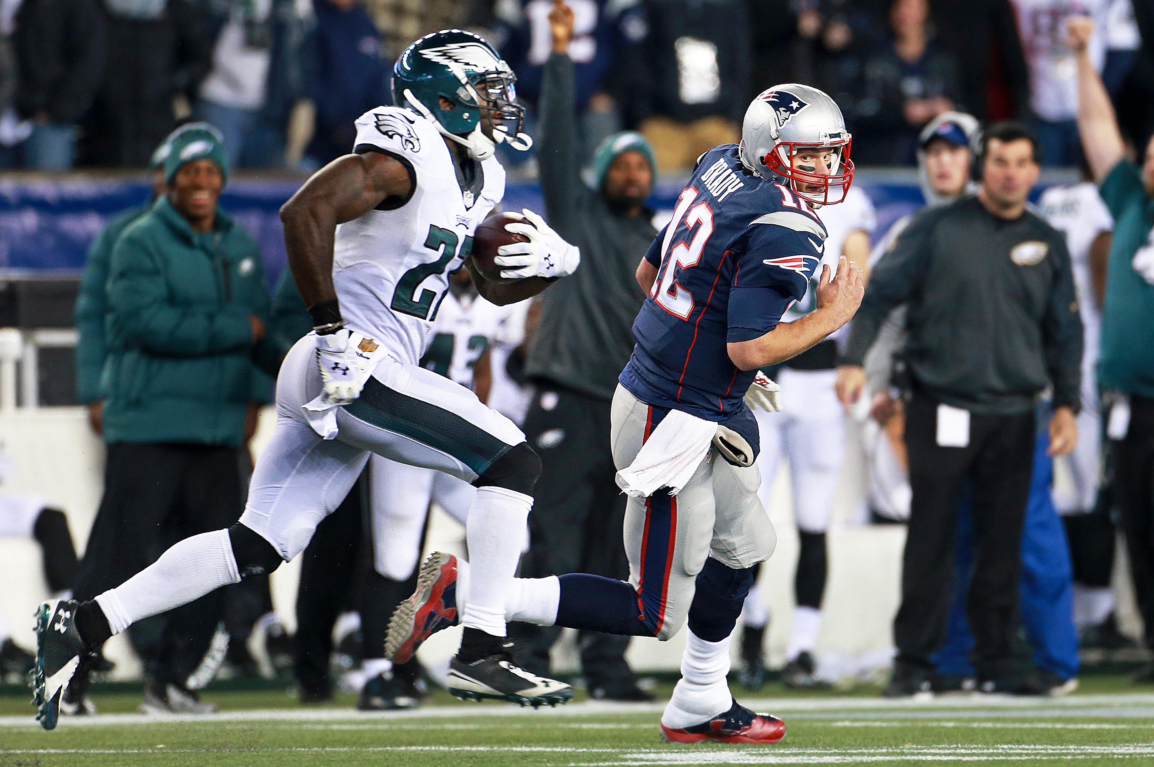 Philadelphia Eagles Vs. New England Patriots At Gillette Stadium