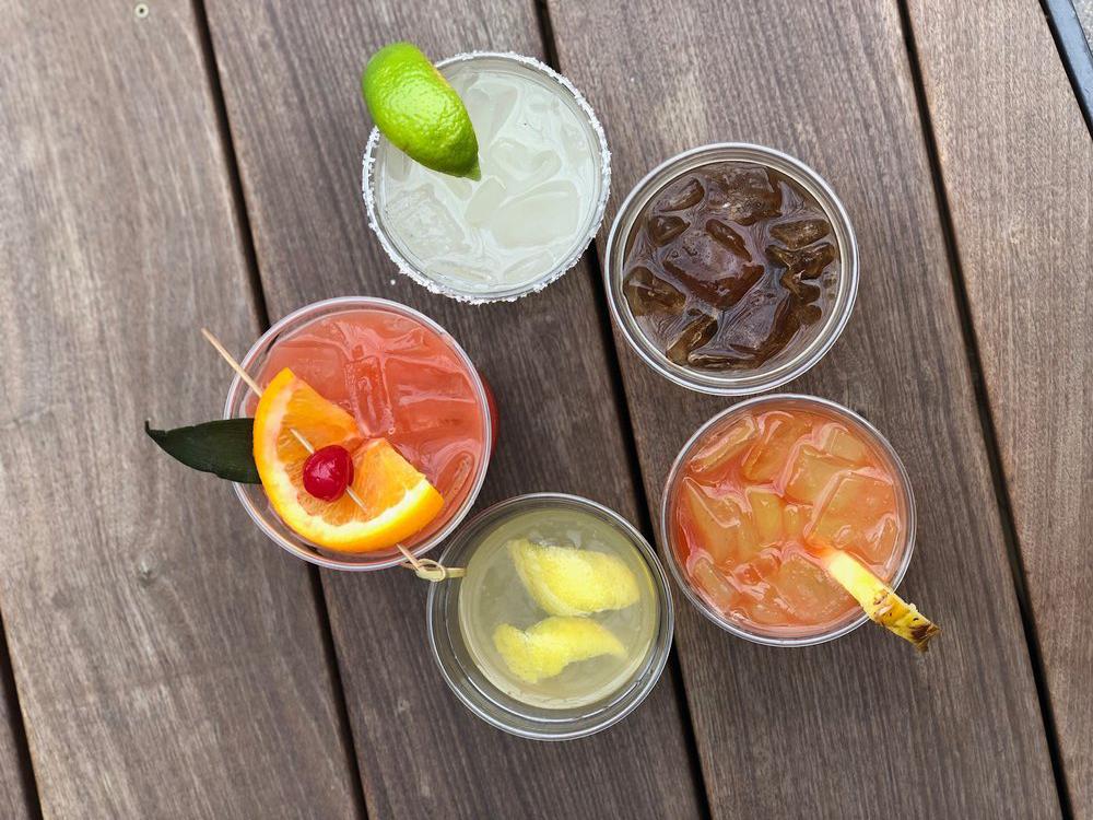 Fareground's cocktails