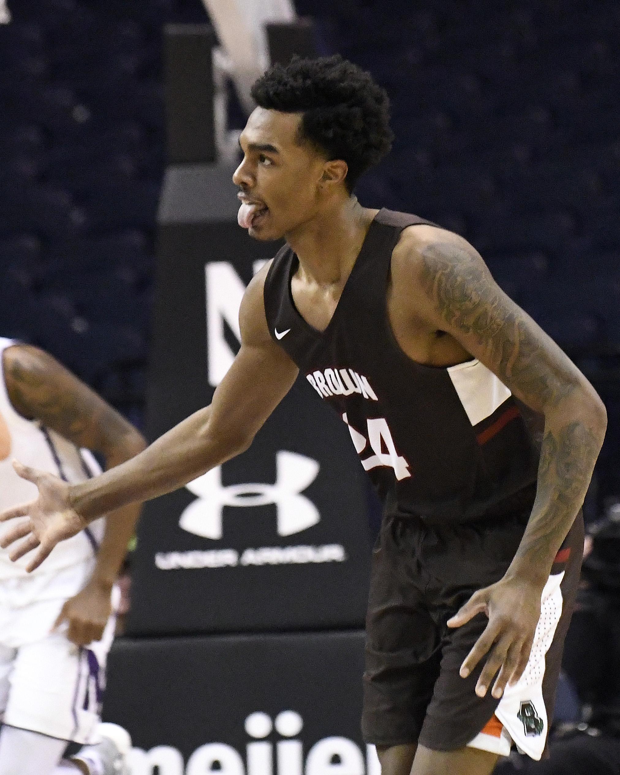 NCAA Basketball: Brown at Northwestern