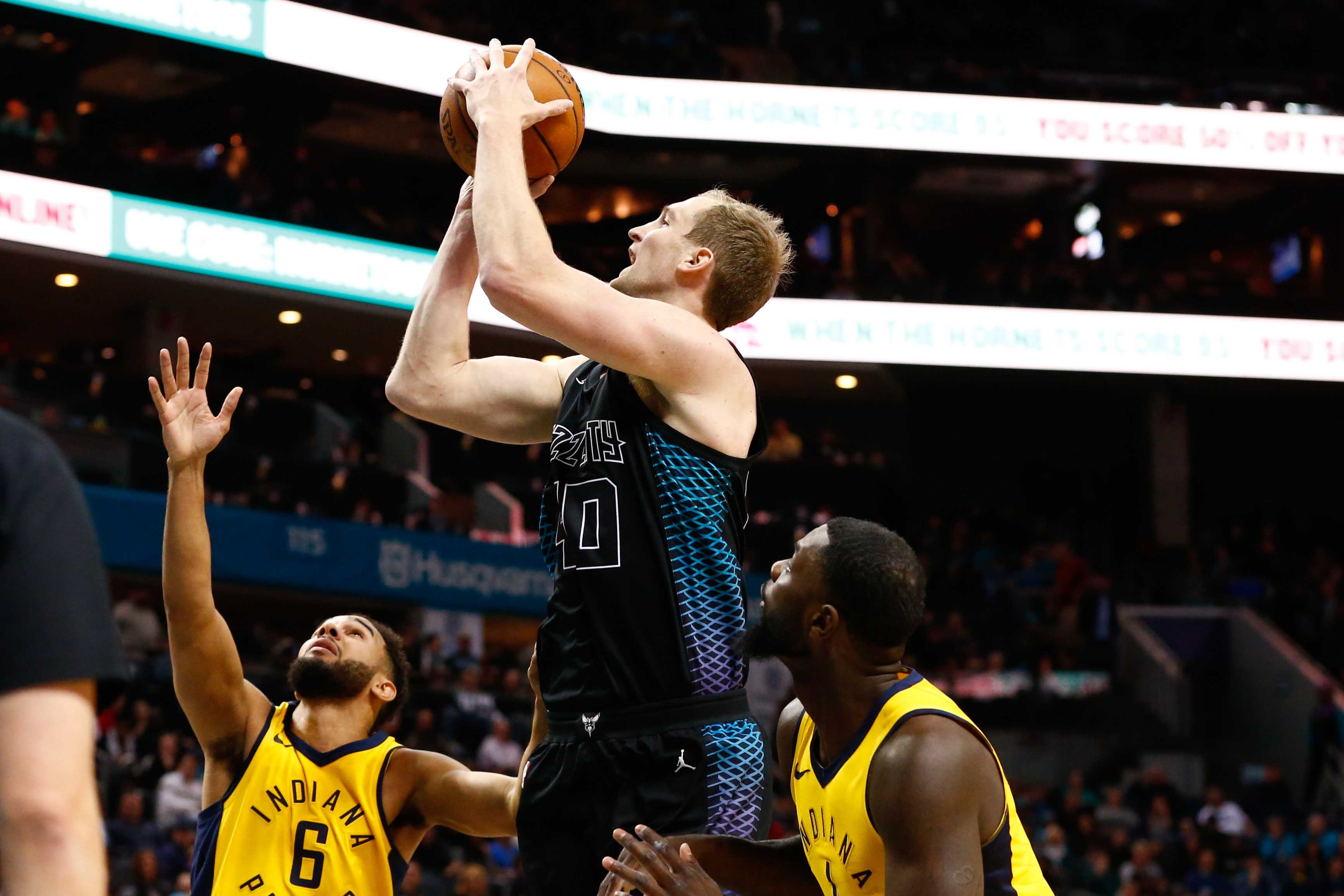 NBA: Indiana Pacers at Charlotte Hornets