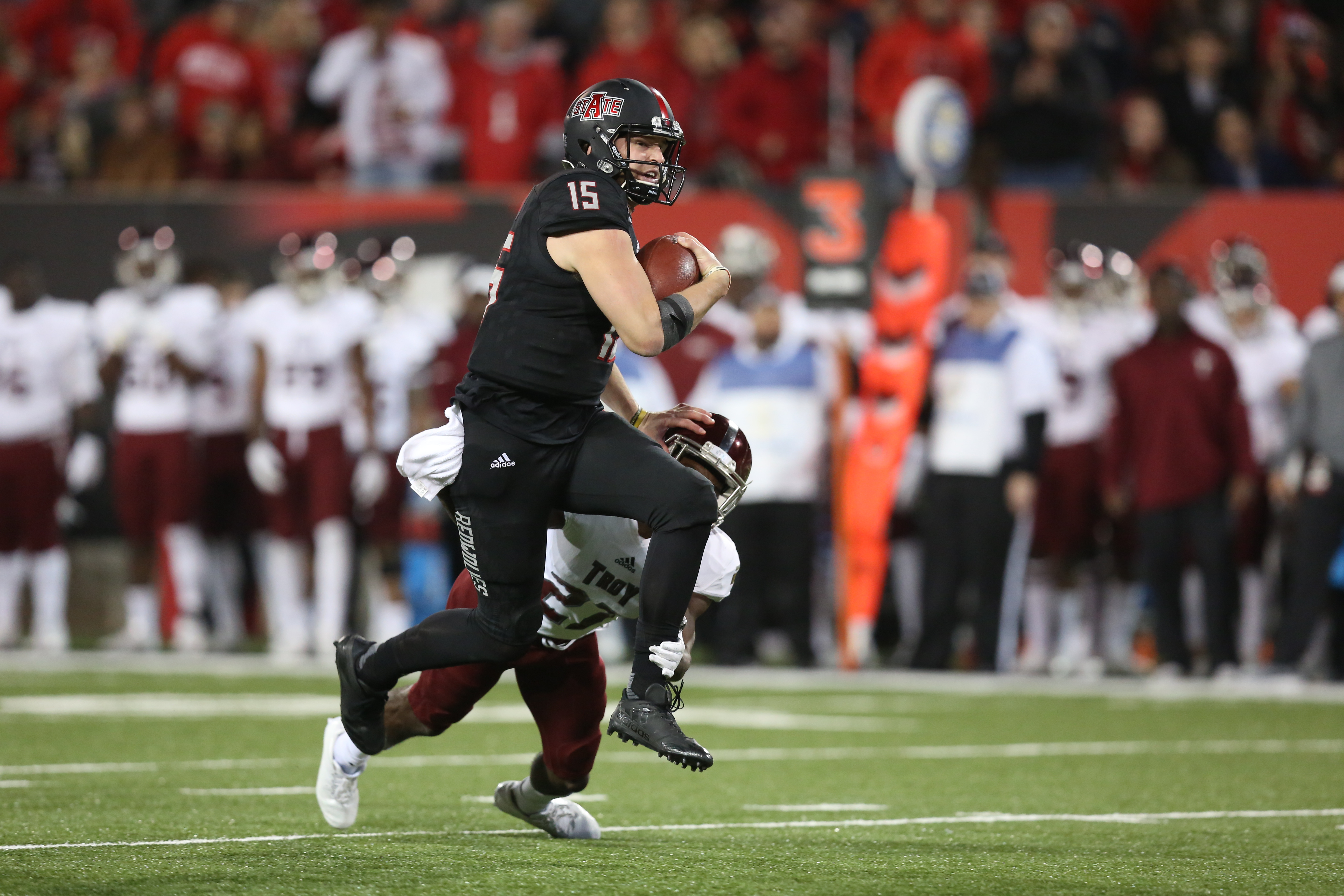 COLLEGE FOOTBALL: DEC 02 Troy at Arkansas State