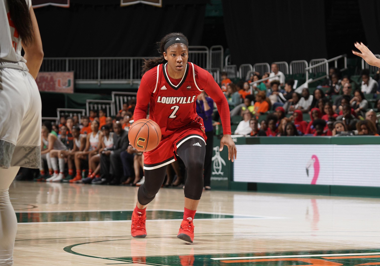 COLLEGE BASKETBALL: JAN 25 Women's - Louisville at Miami