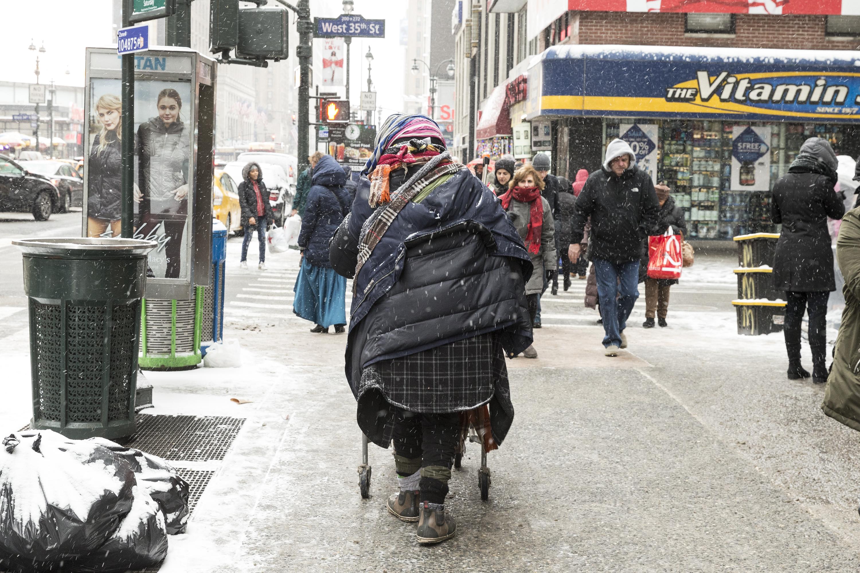 Homeless population swelled during first term of Bill de...