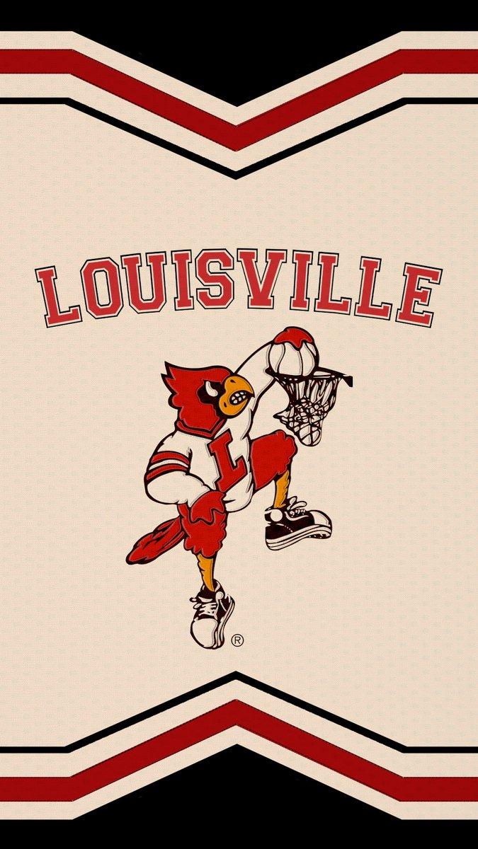 Louisville rocking the Dunking Cardinal Bird unis toight