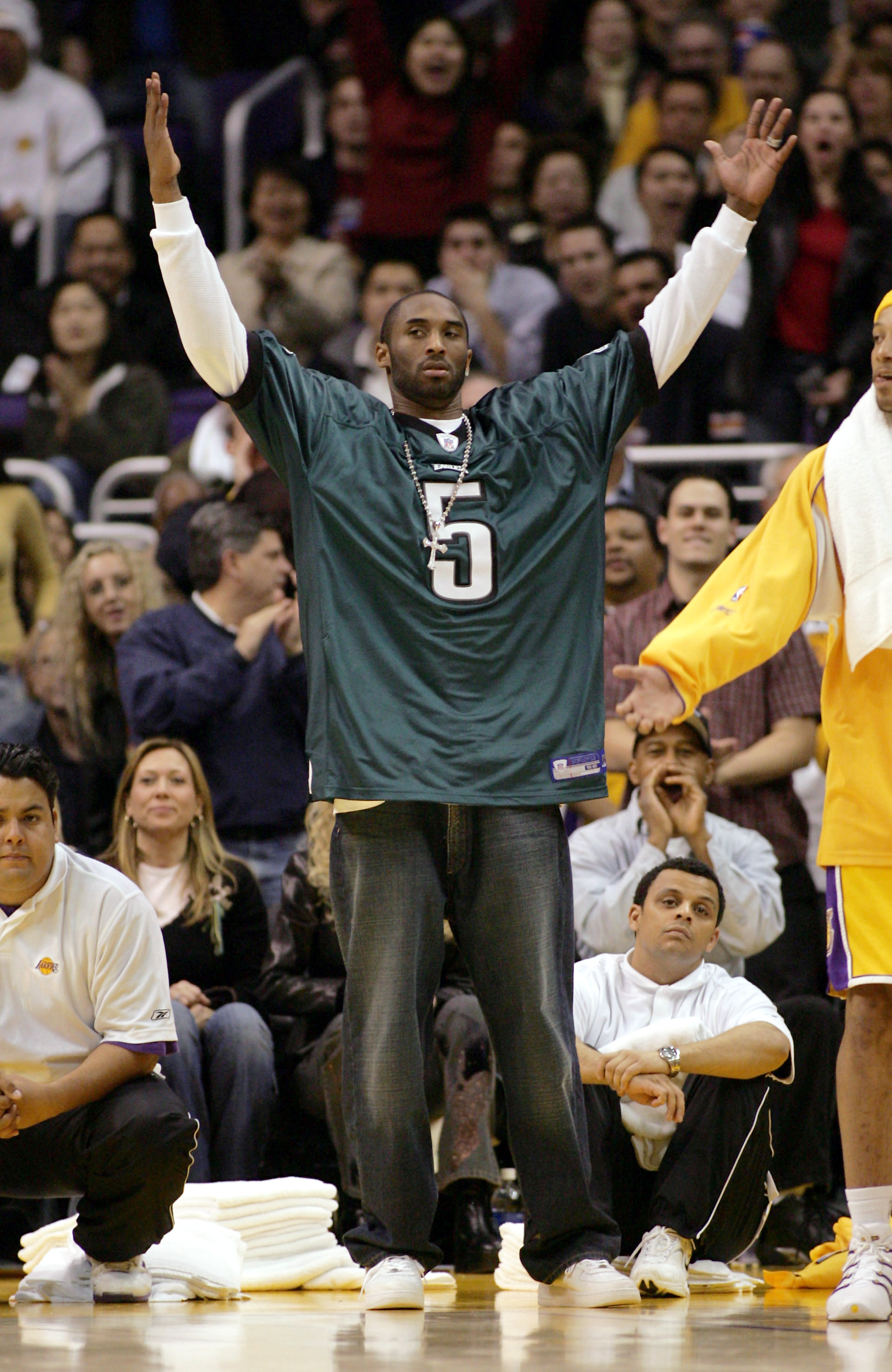 68b2fb9c0fb Super Bowl  Kobe Bryant reacting to the Eagles  championship is a great  moment in Dad history. New ...