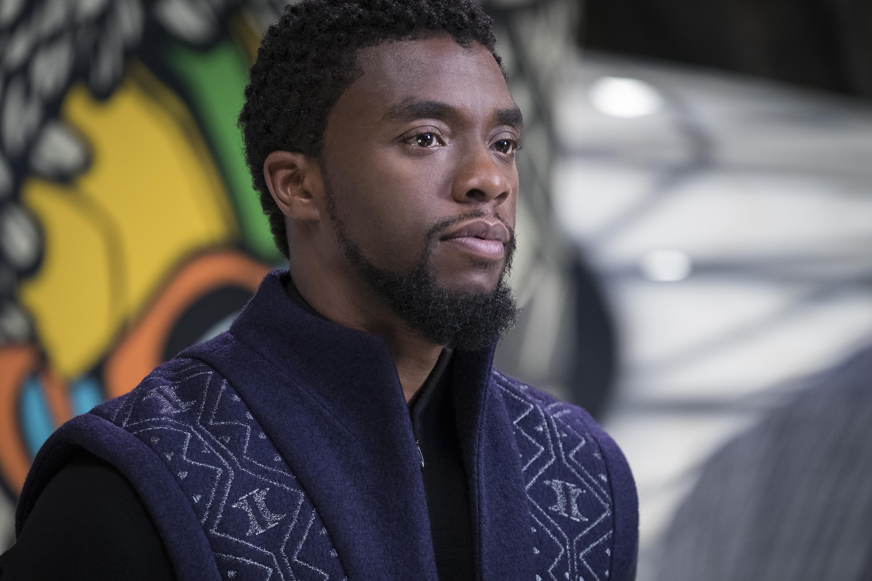 T'Challa/Black Panther (Chadwick Boseman) in Black Panther