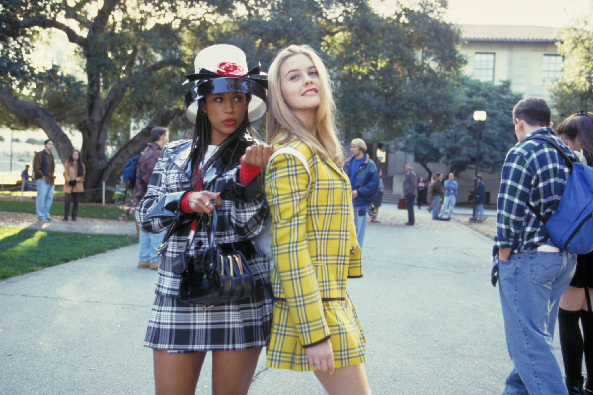 """Cher and Dionne in """"Clueless"""""""