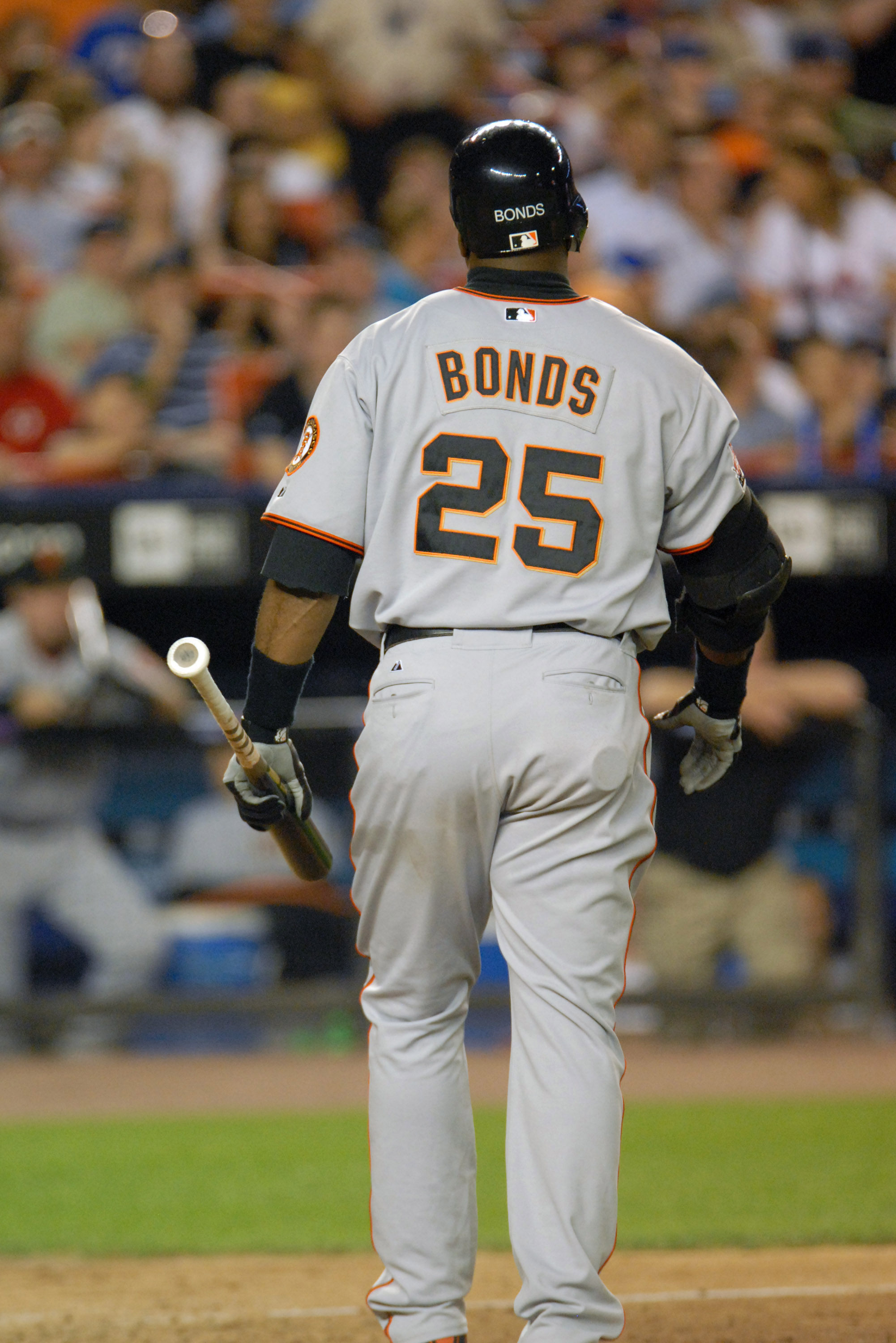Barry Bonds During the San Francisco Giants vs New York Mets Game - May 30, 2007
