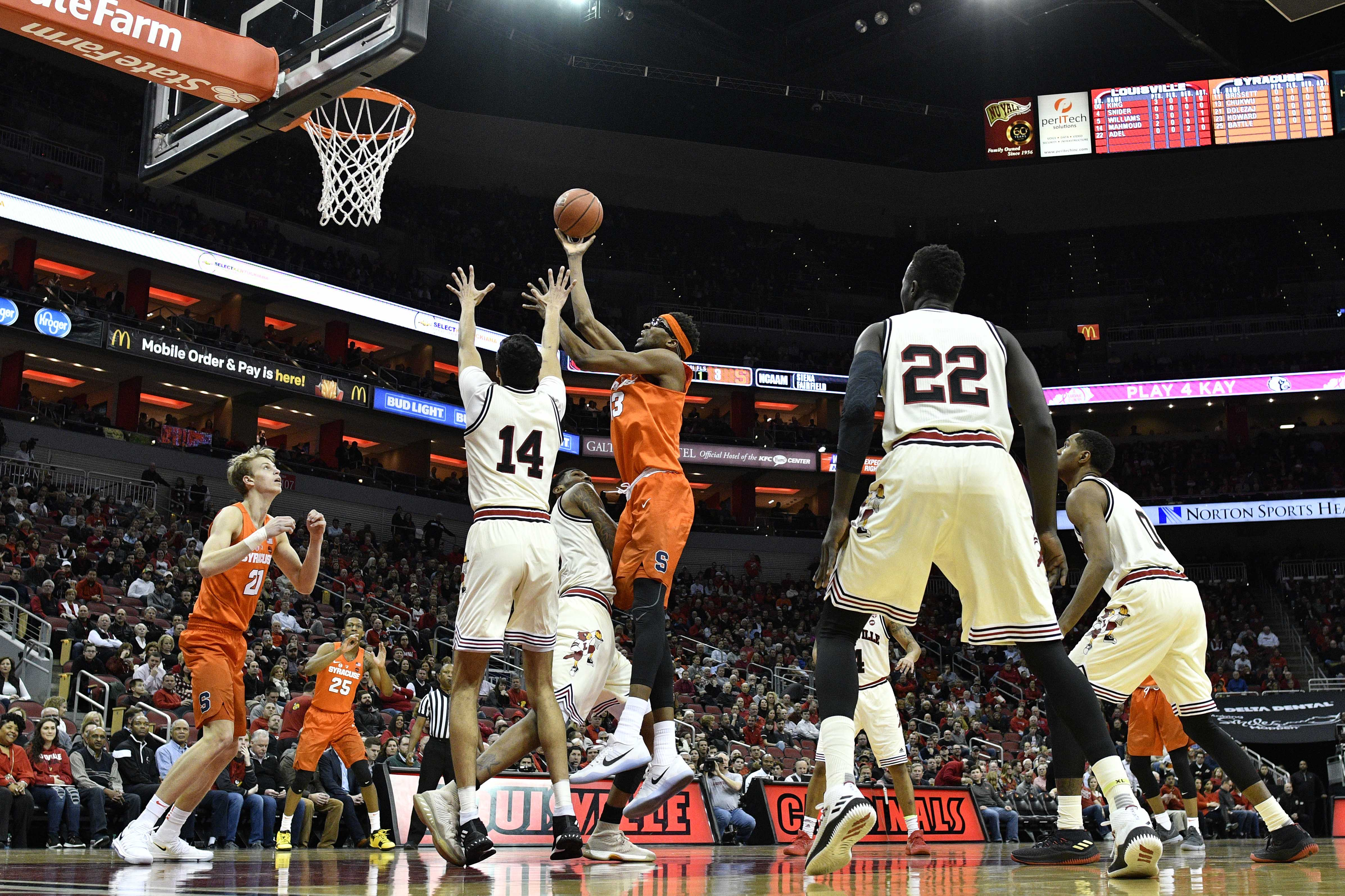 Is Syracuse A More Deserving Ncaa Tournament Team Than Louisville