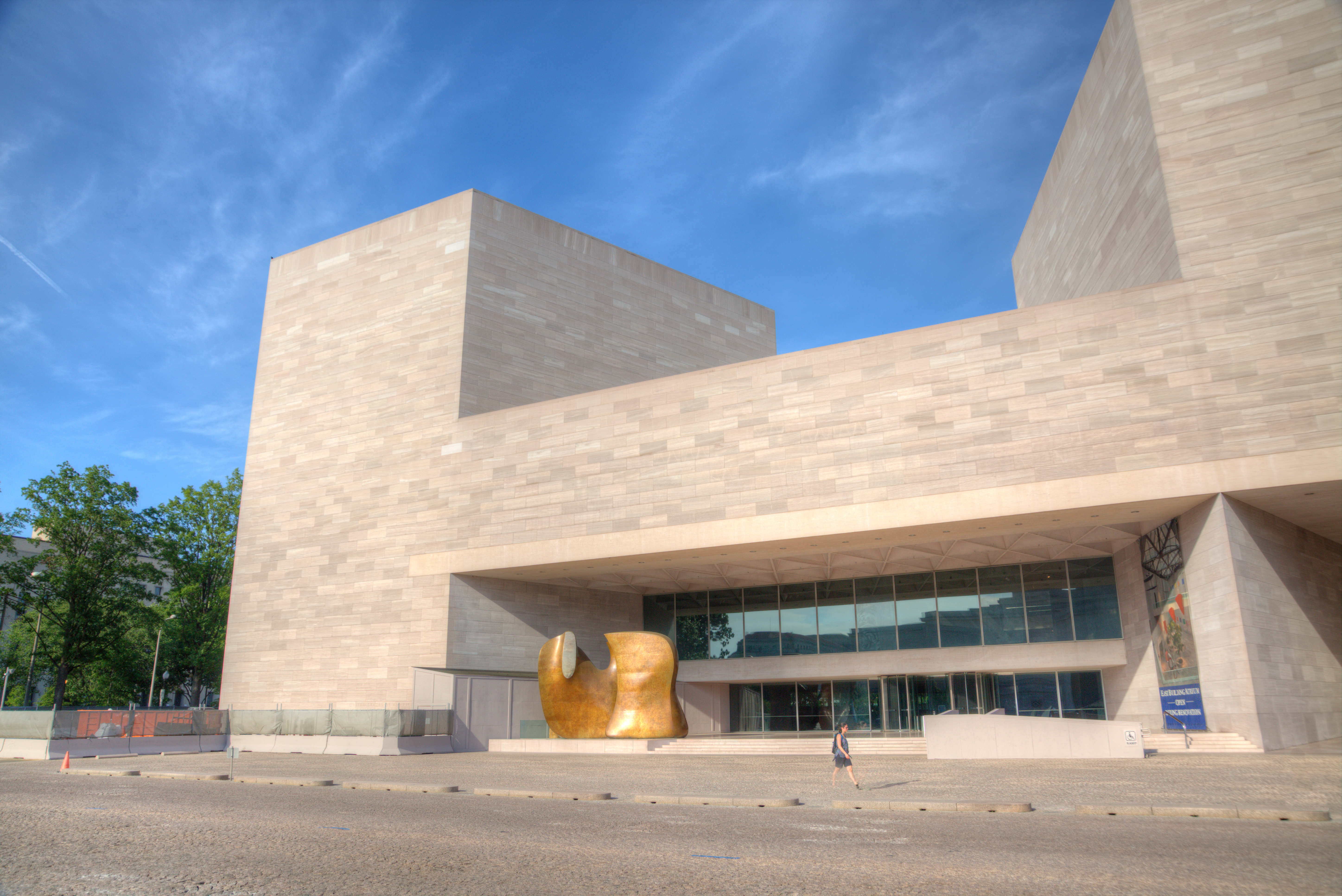 National Gallery of Art's East building.