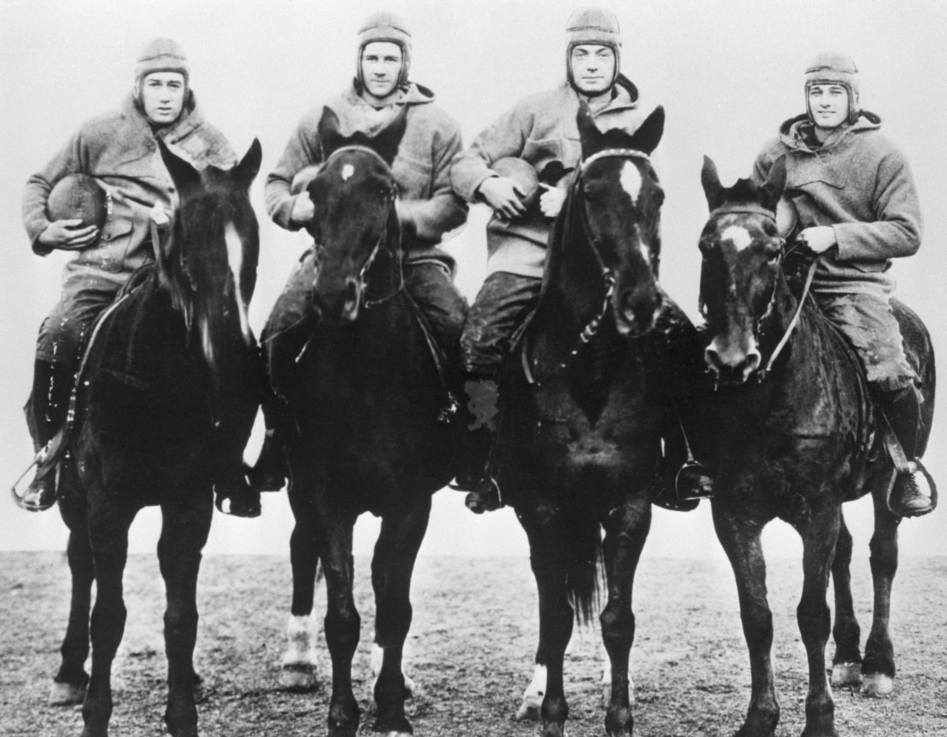 Notre Dame's Four Horsemen of Football