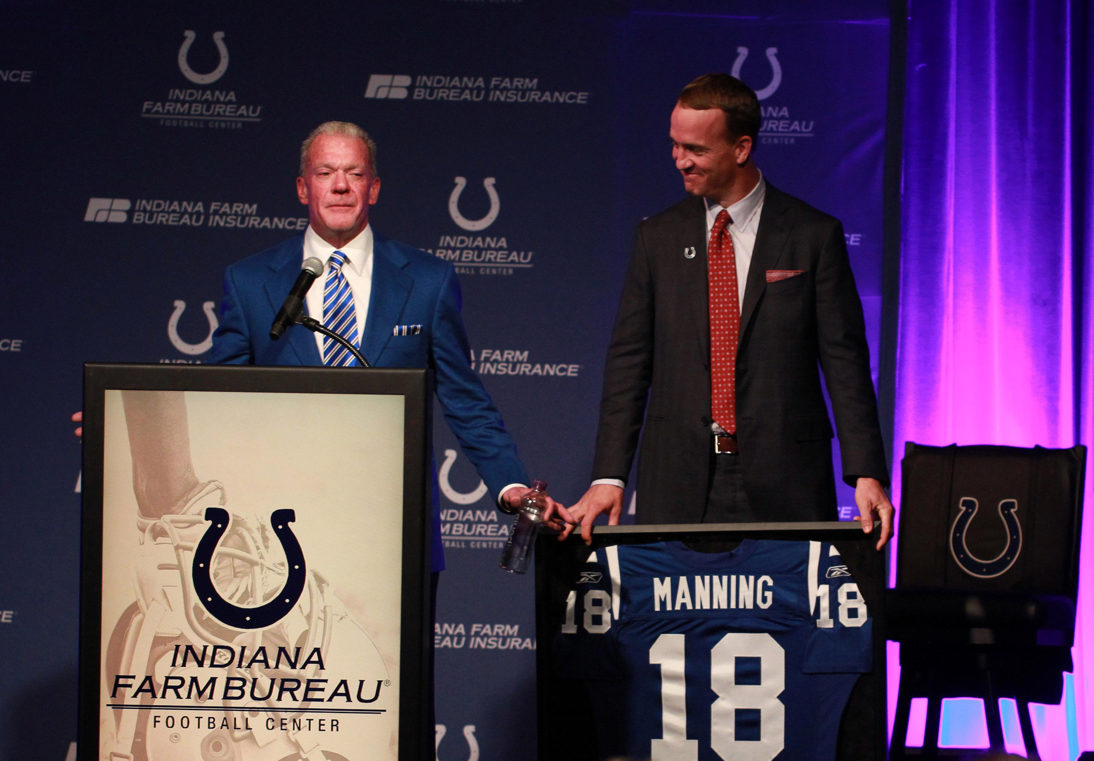 NFL: Peyton Manning-Press Conference