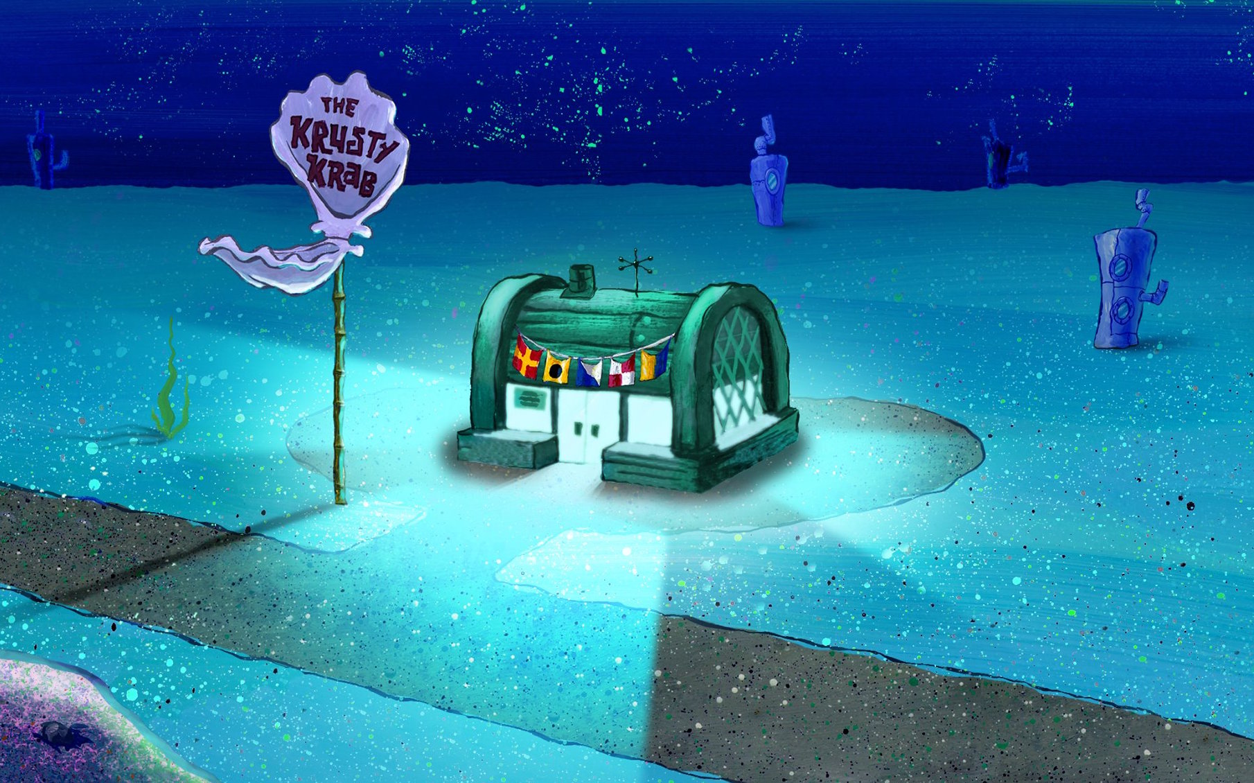 The Krusty Krab Is Not A Restaurant Name That S Up For Grabs Says