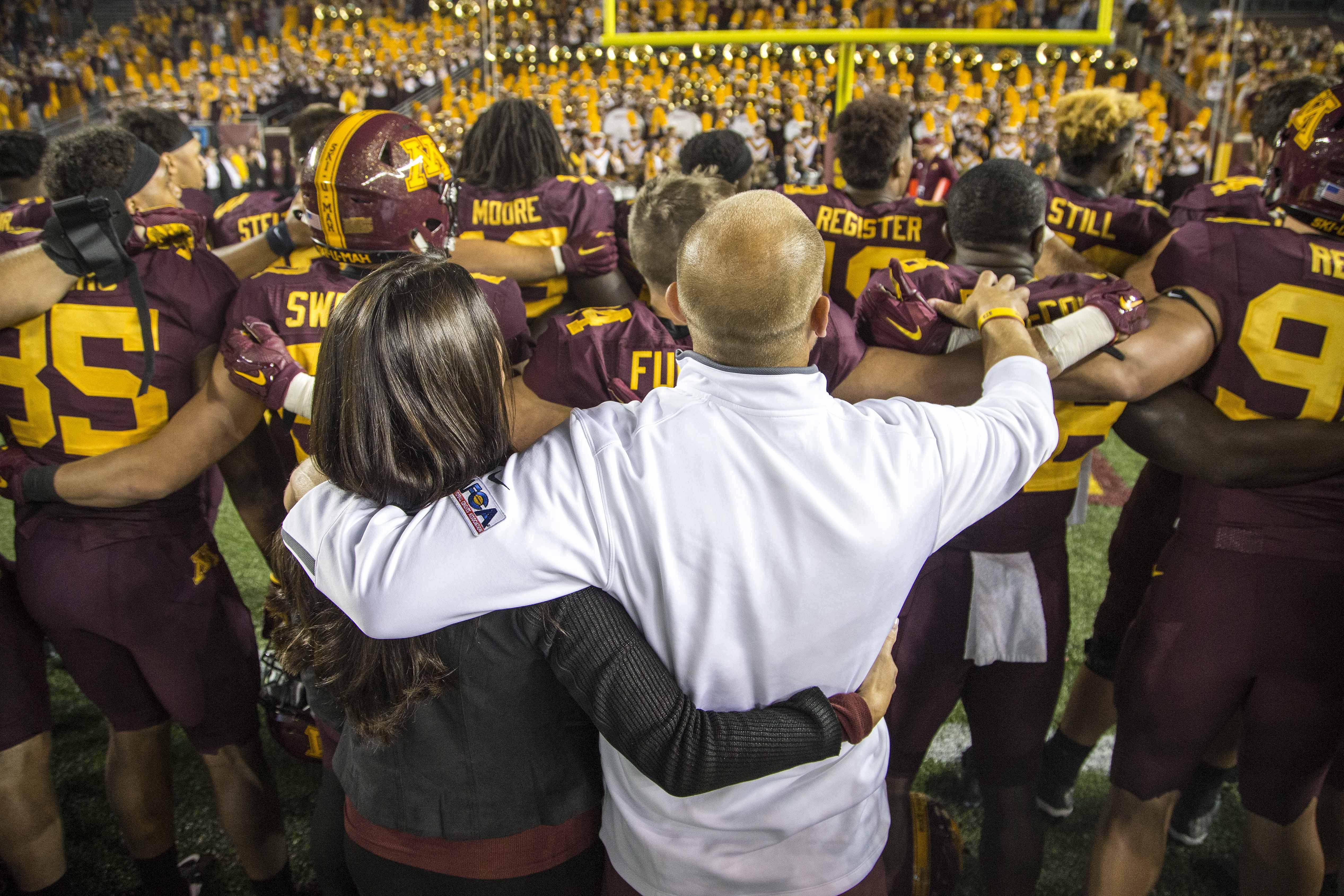 NCAA Football: Buffalo at Minnesota
