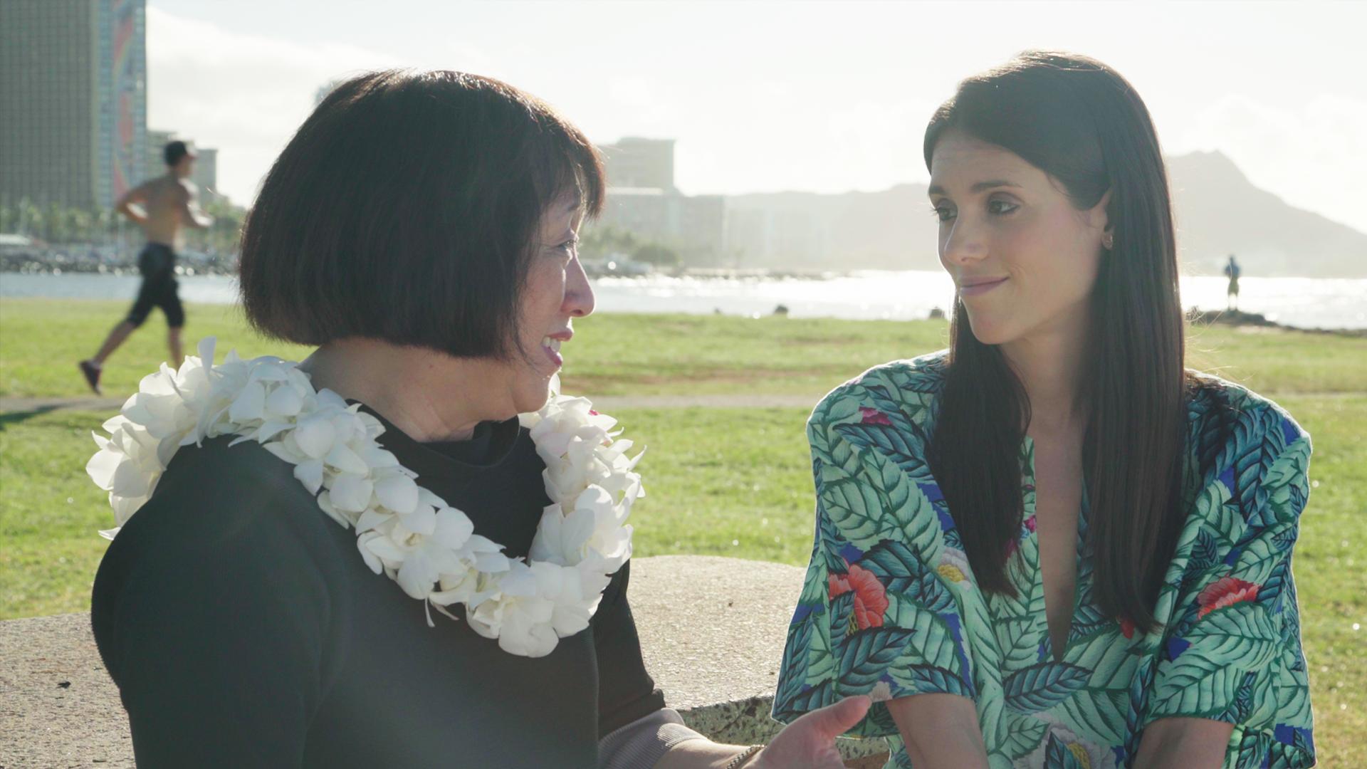 Liz Plank sits down with Hawaii Congress member Colleen Hanabusa