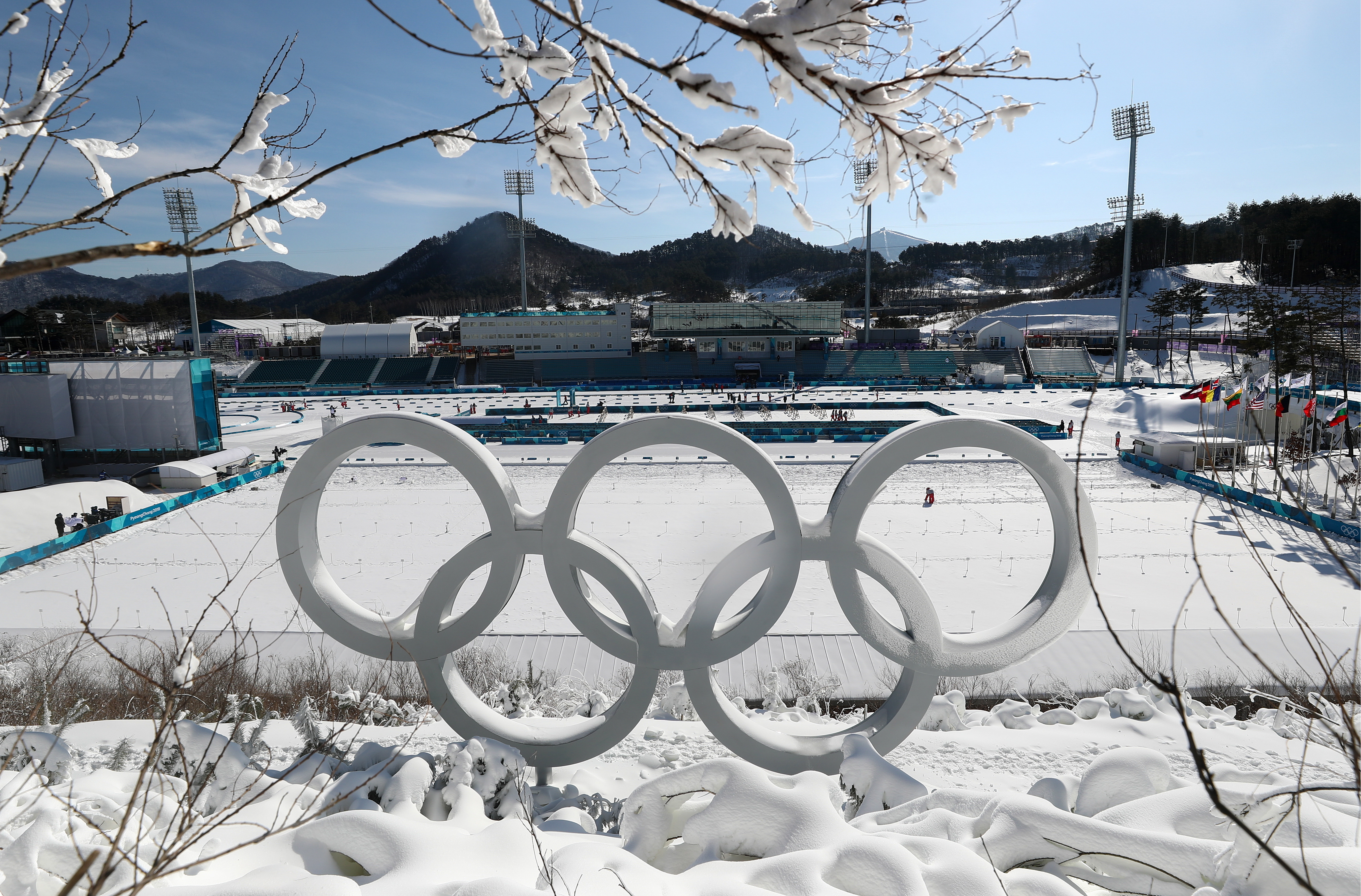 PyeongChang two days ahead of opening of 2018 Winter Olympic Games