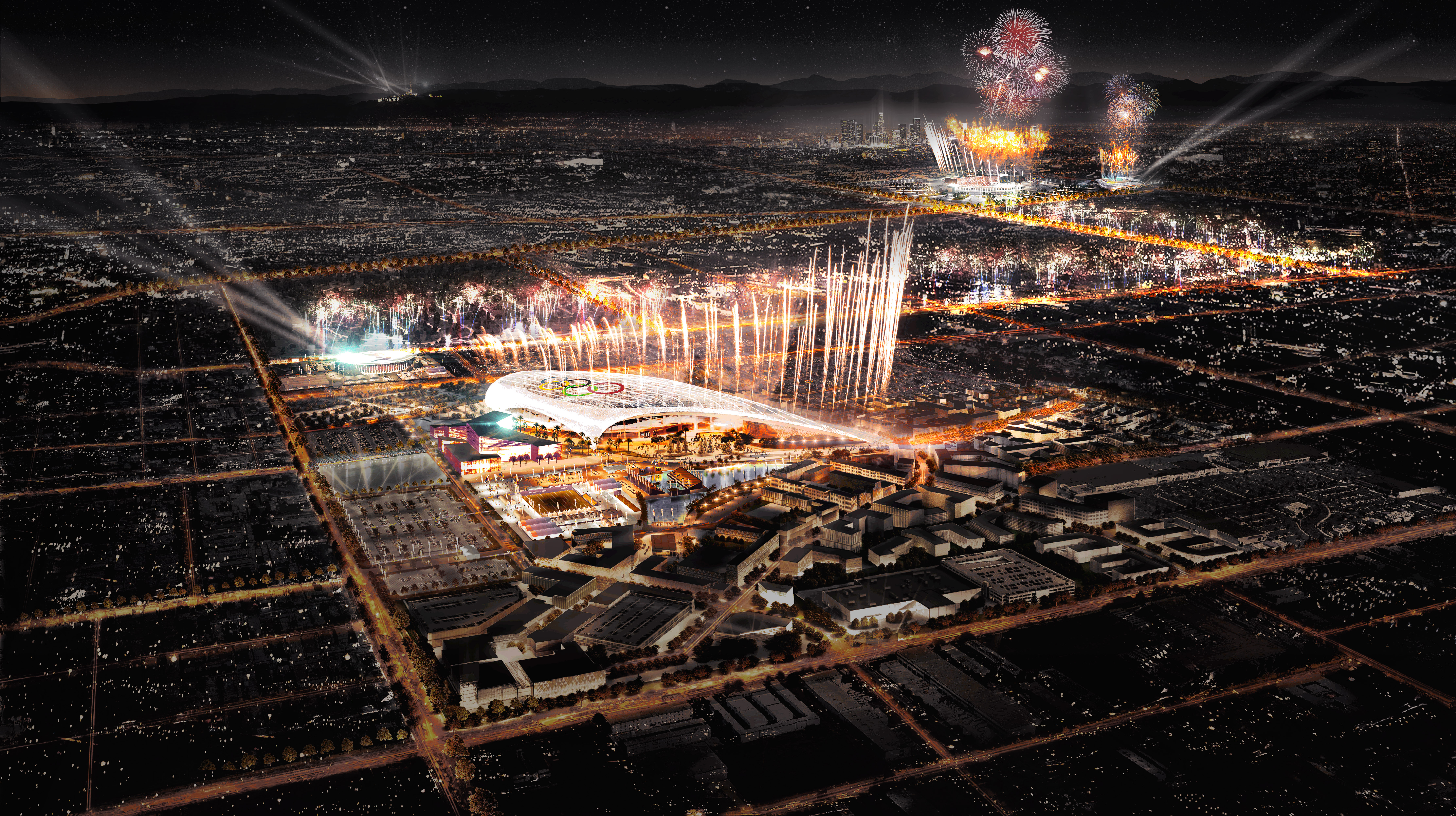 LA 2028 Olympics: Mapping the sites of the Los Angeles