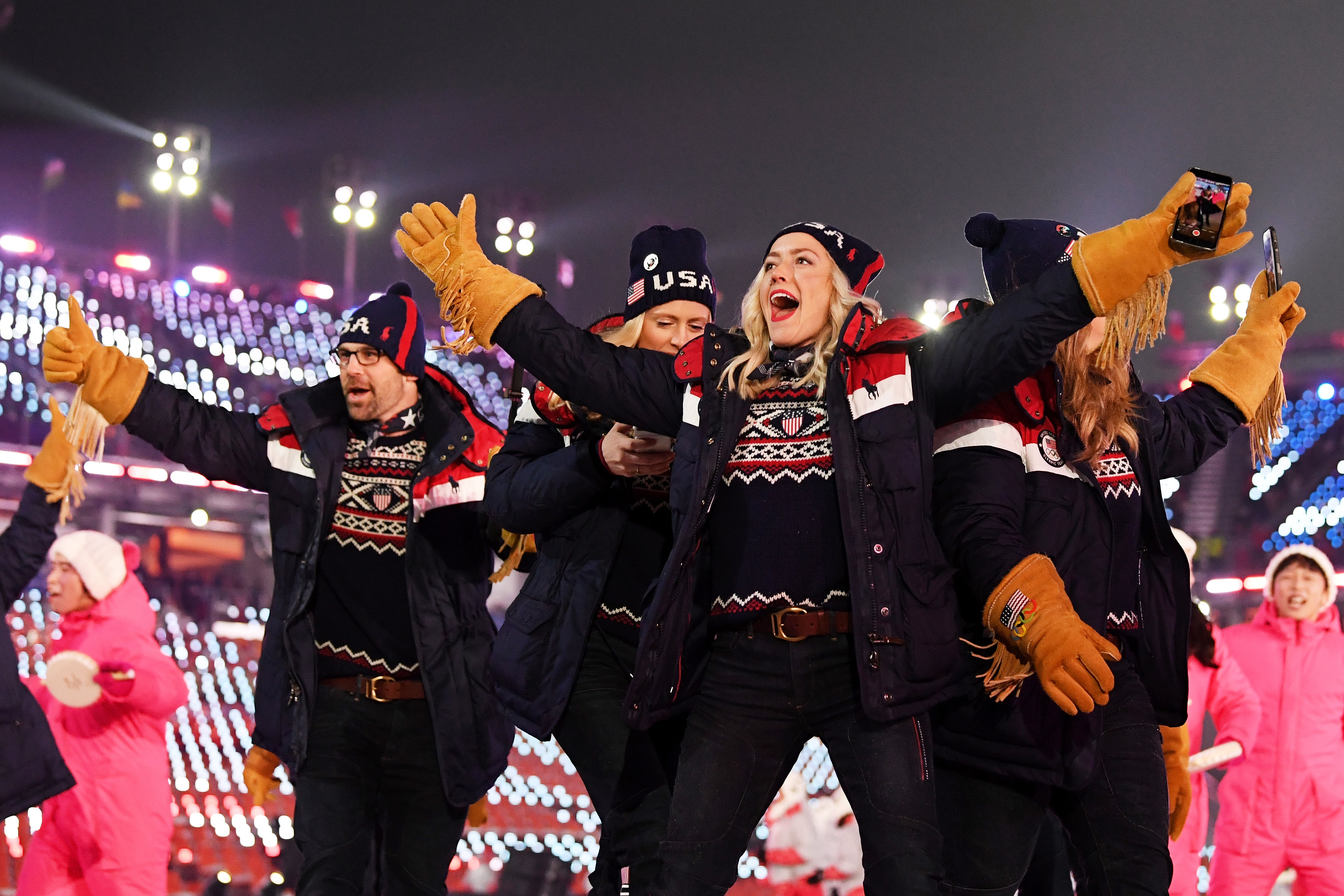 Ranking every piece of Team USA s Winter Olympics opening ceremony outfit 100ec1eef