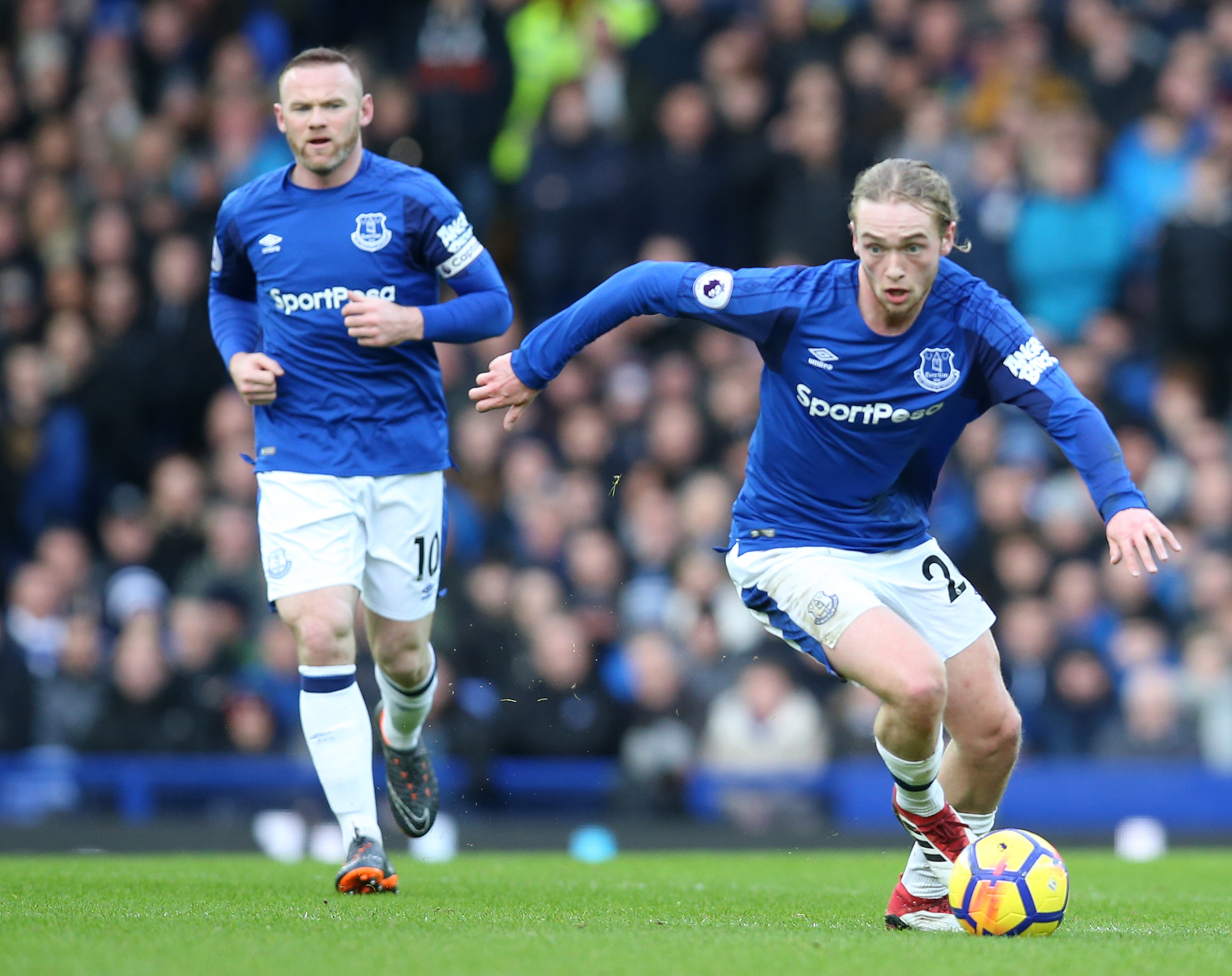 2018 EPL Premier League Football Everton v Crystal Palace Feb 10th