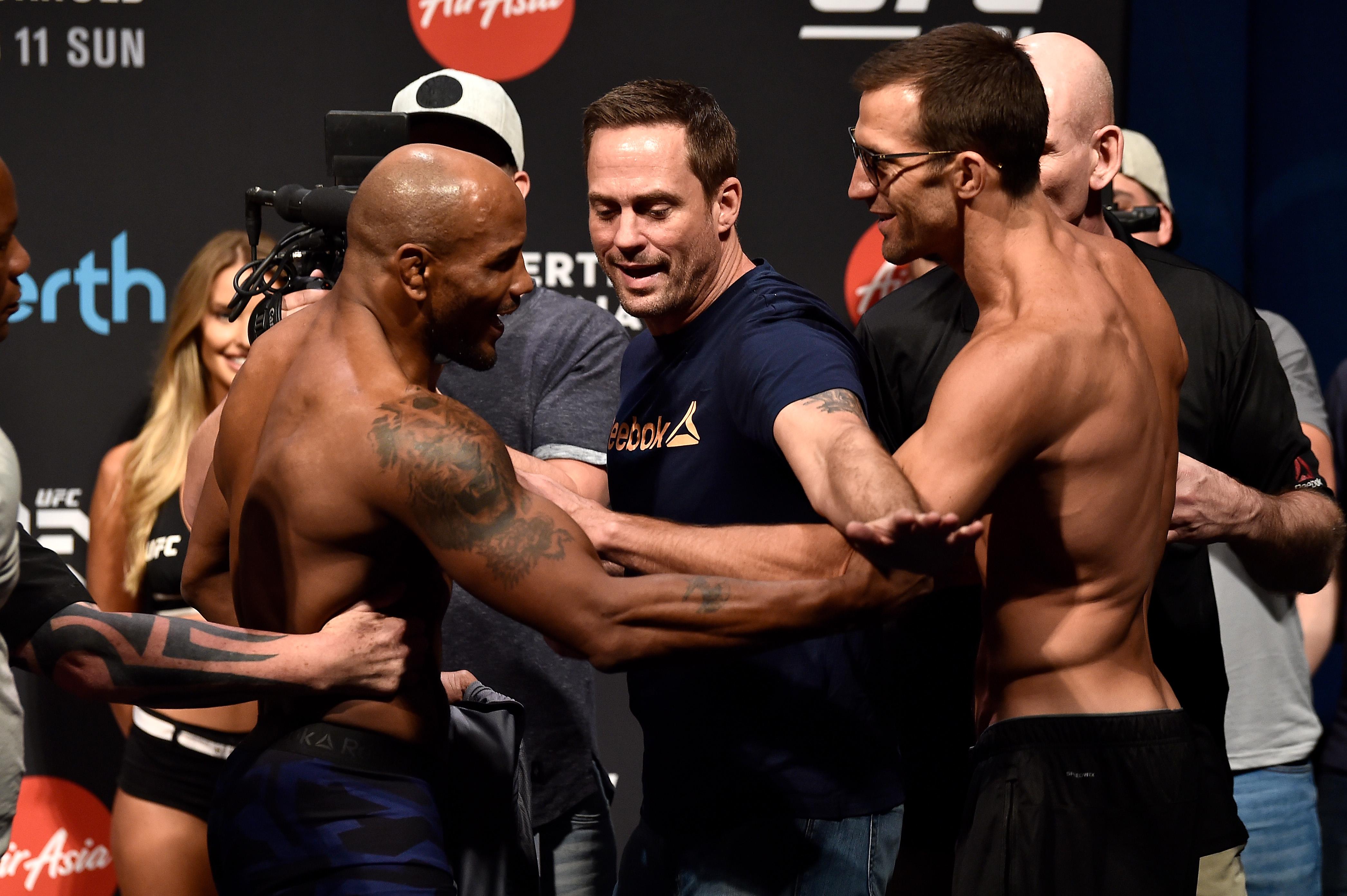 UFC 221 Weigh-ins