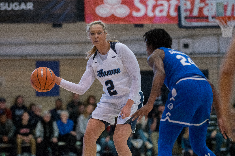 Villanova Women's Basketball against Seton Hall.