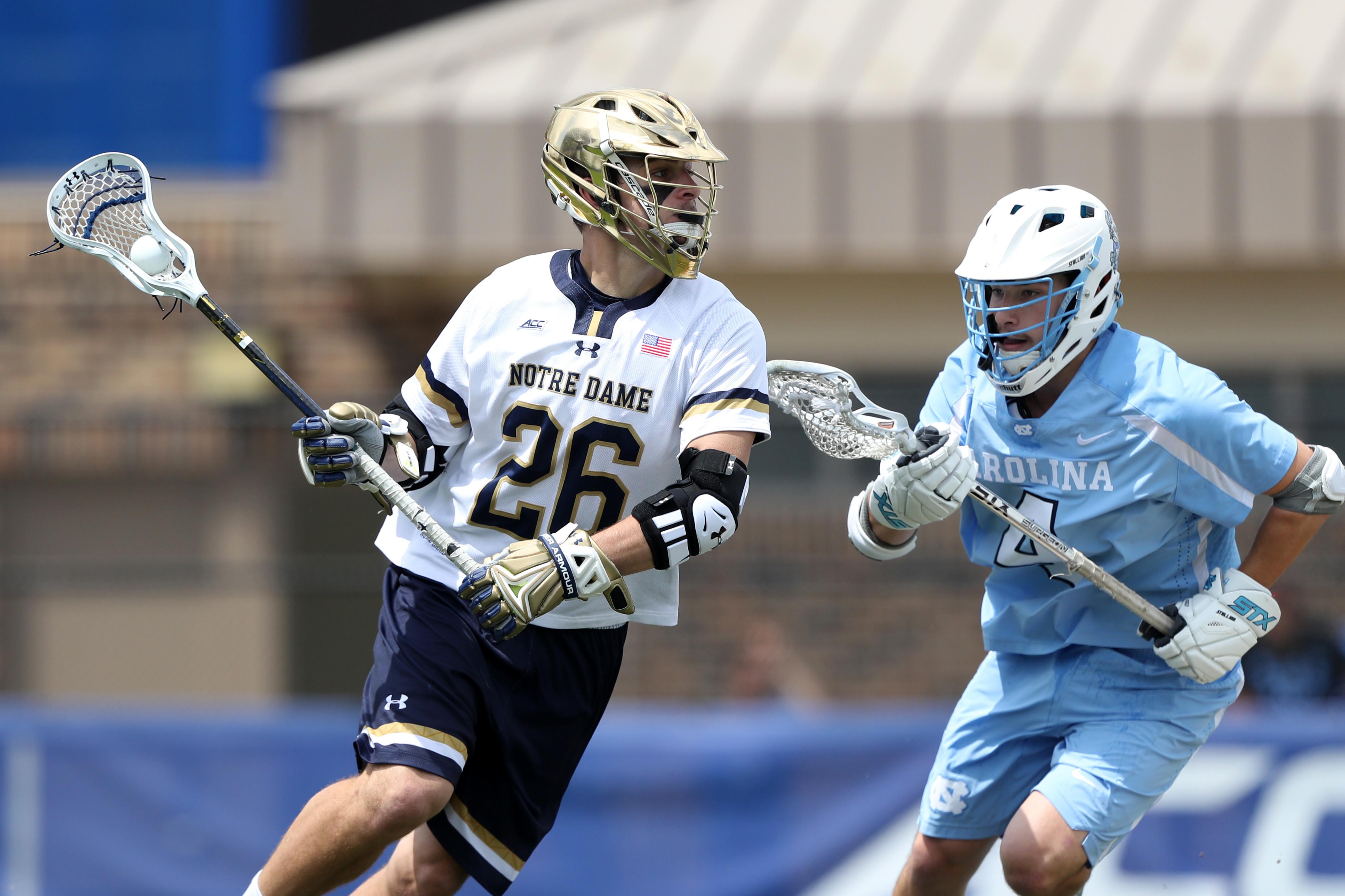 COLLEGE LACROSSE: APR 30 ACC Final - Notre Dame v North Carolina