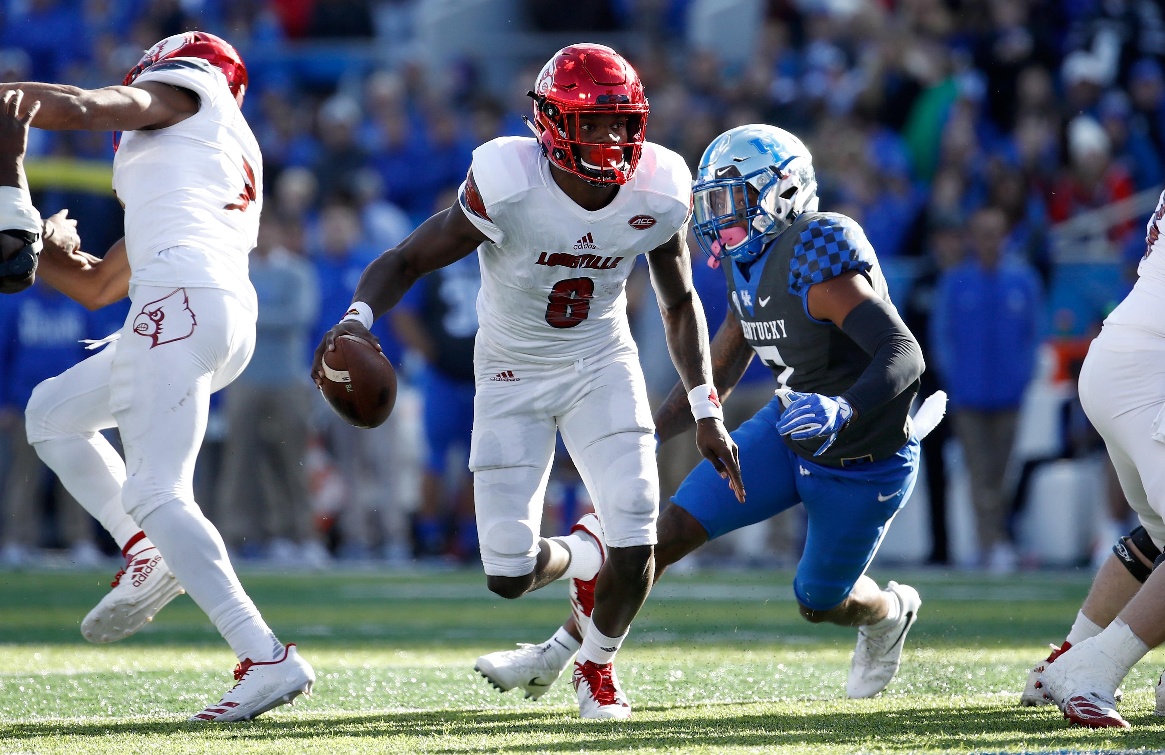 Louisville QB Lamar Jackson