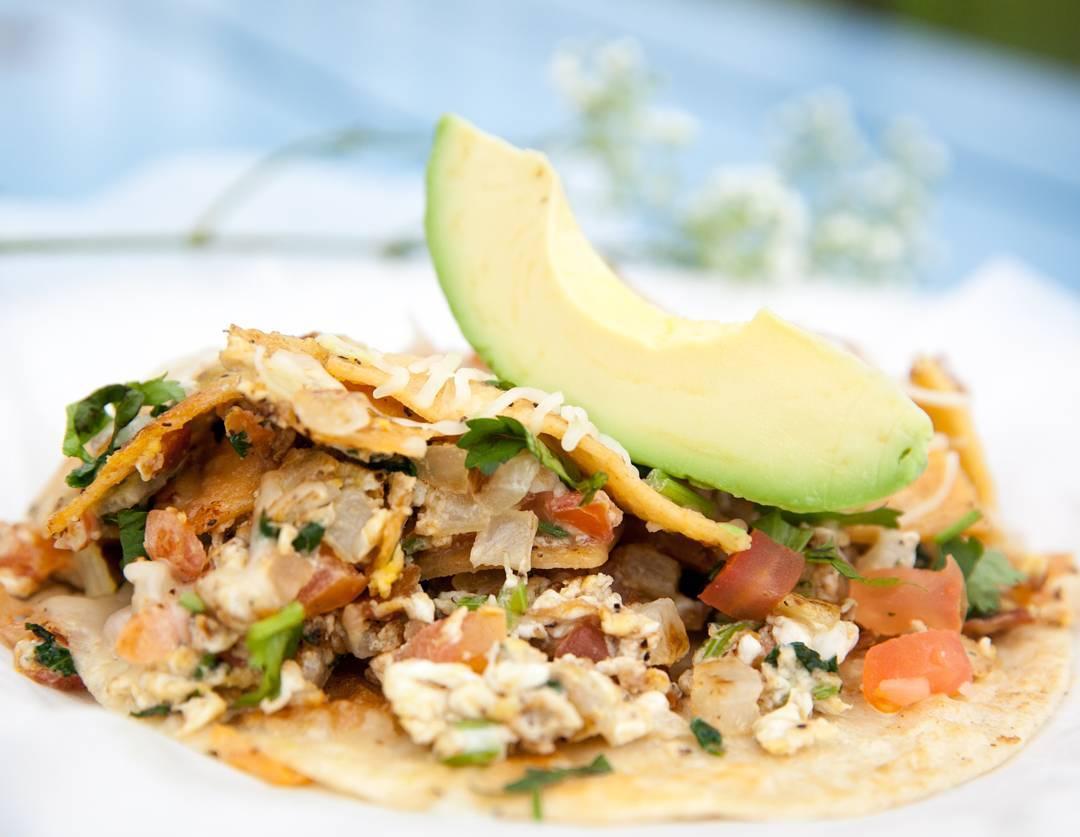 Veracruz All Natural's breakfast taco