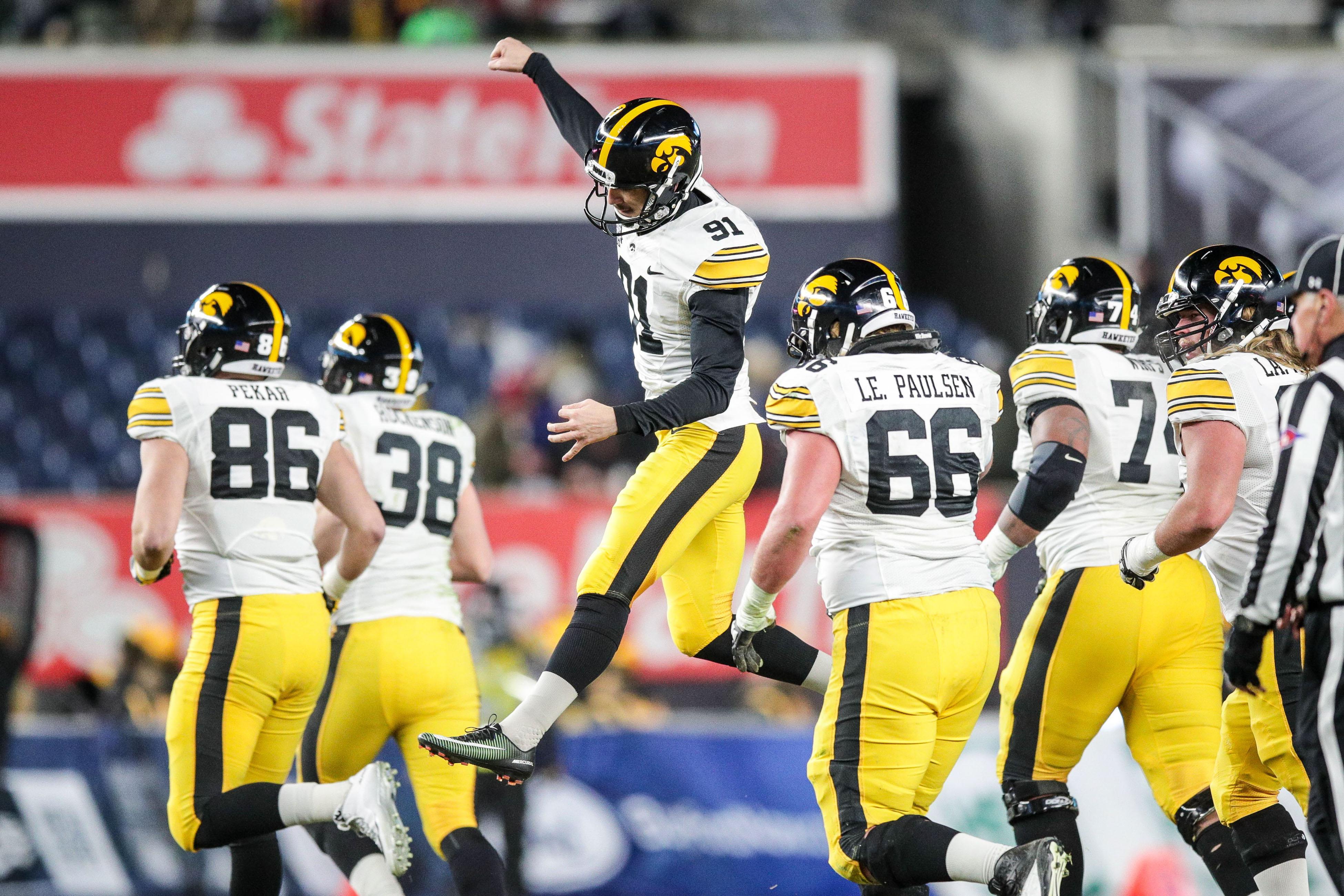 NCAA Football: Pinstripe Bowl-Boston College vs Iowa
