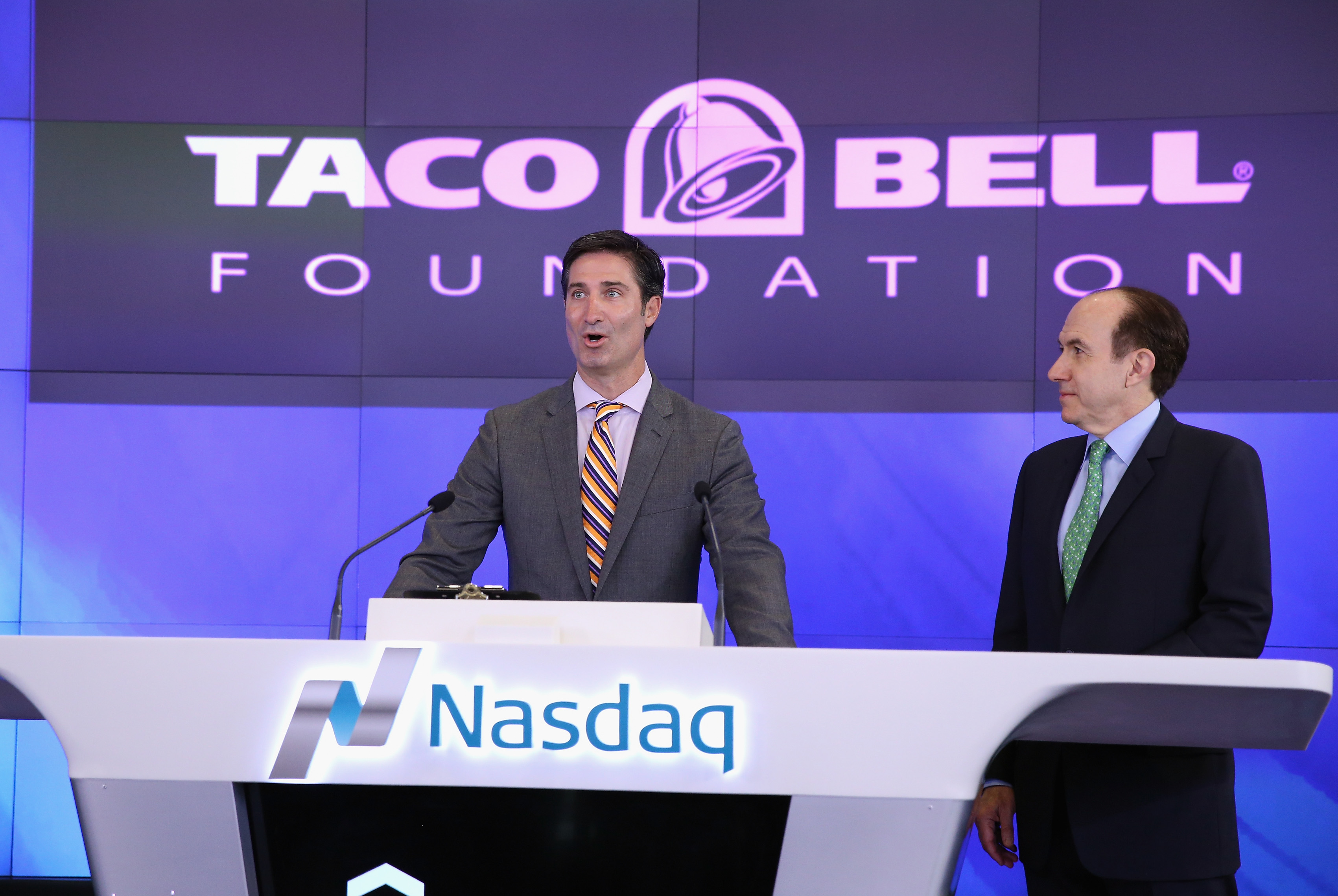 Viacom, Taco Bell Foundation And Get Schooled Ring The NASDAQ Opening Bell