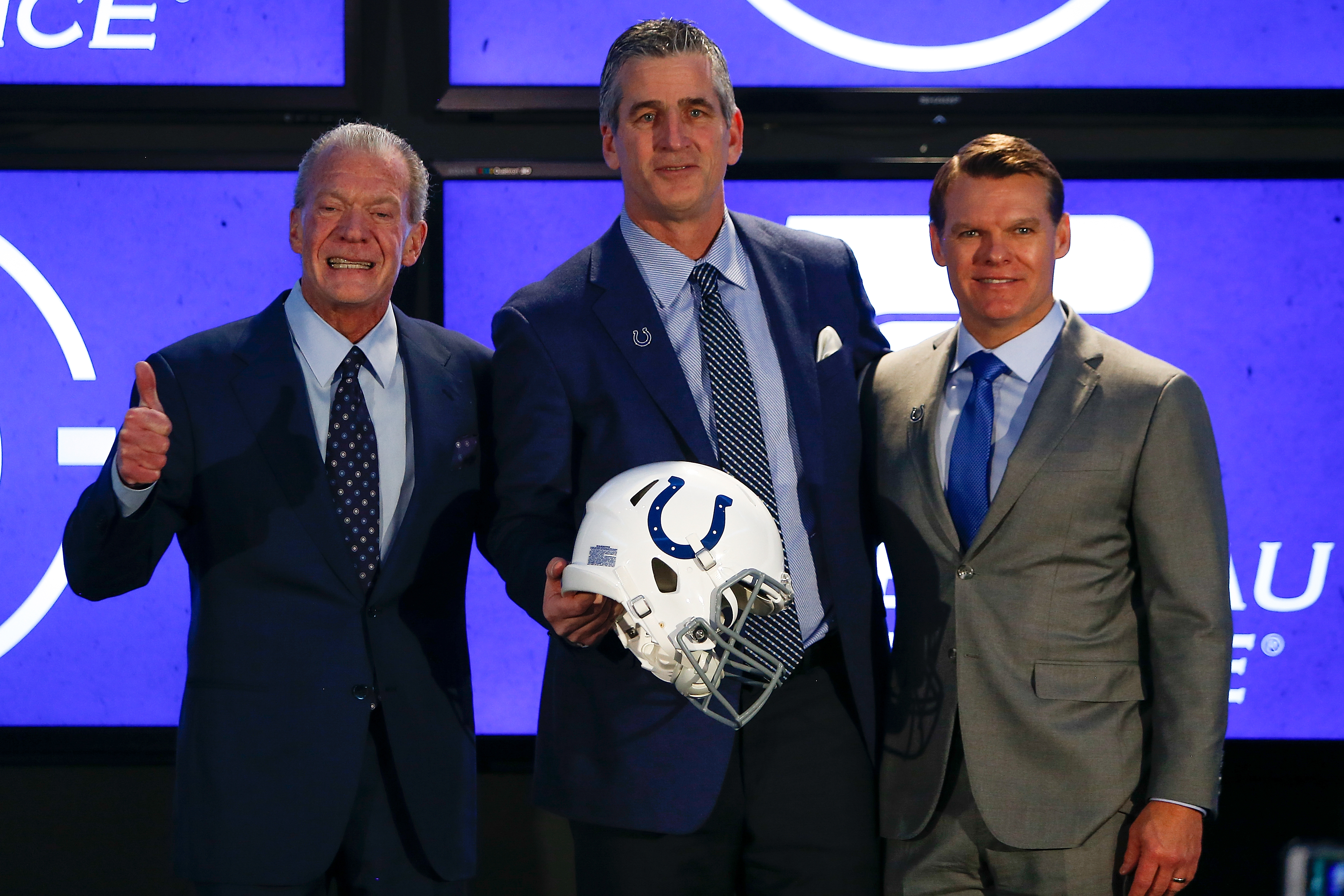 Indianapolis Colts Introduce Frank Reich