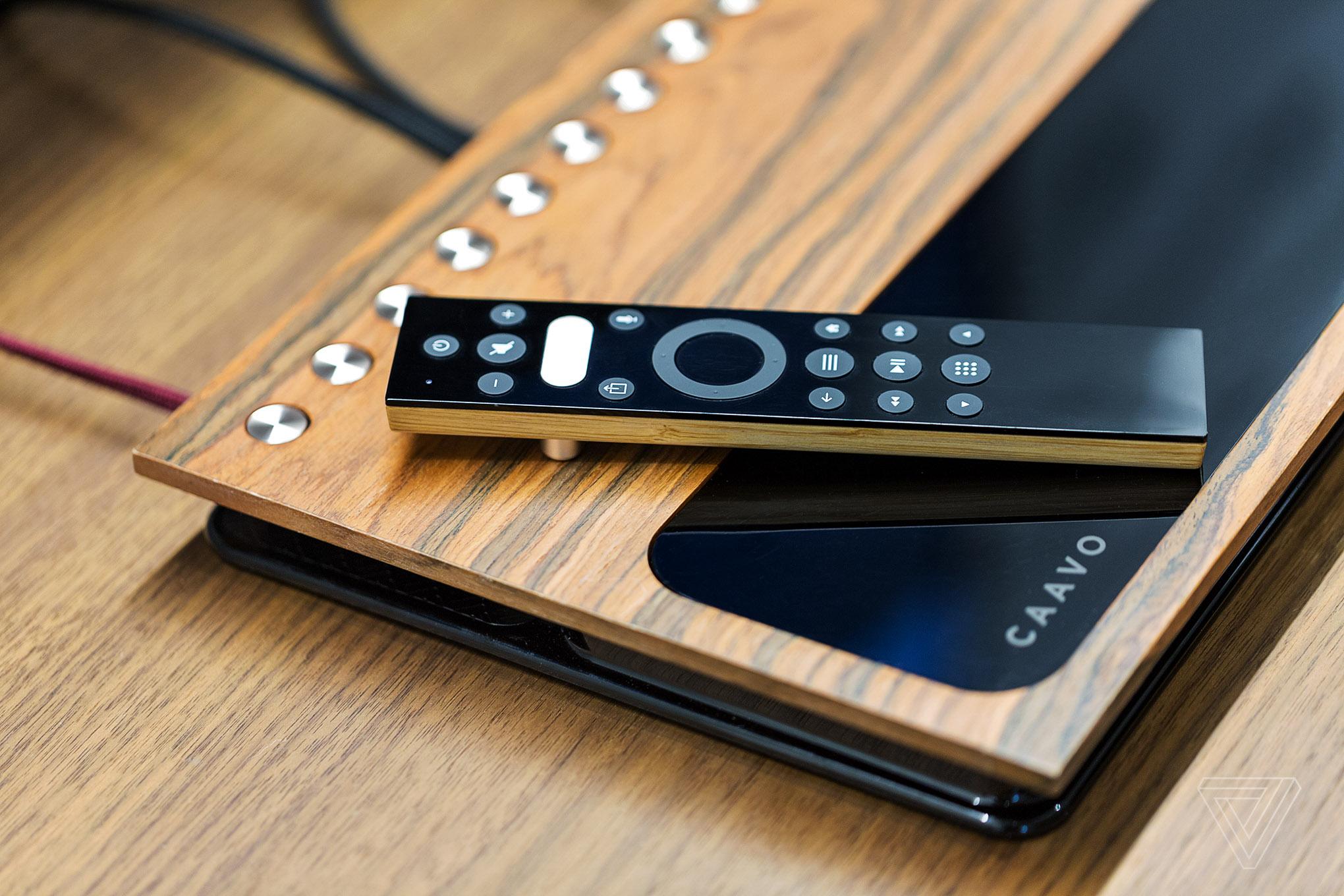 Caavo box and remote