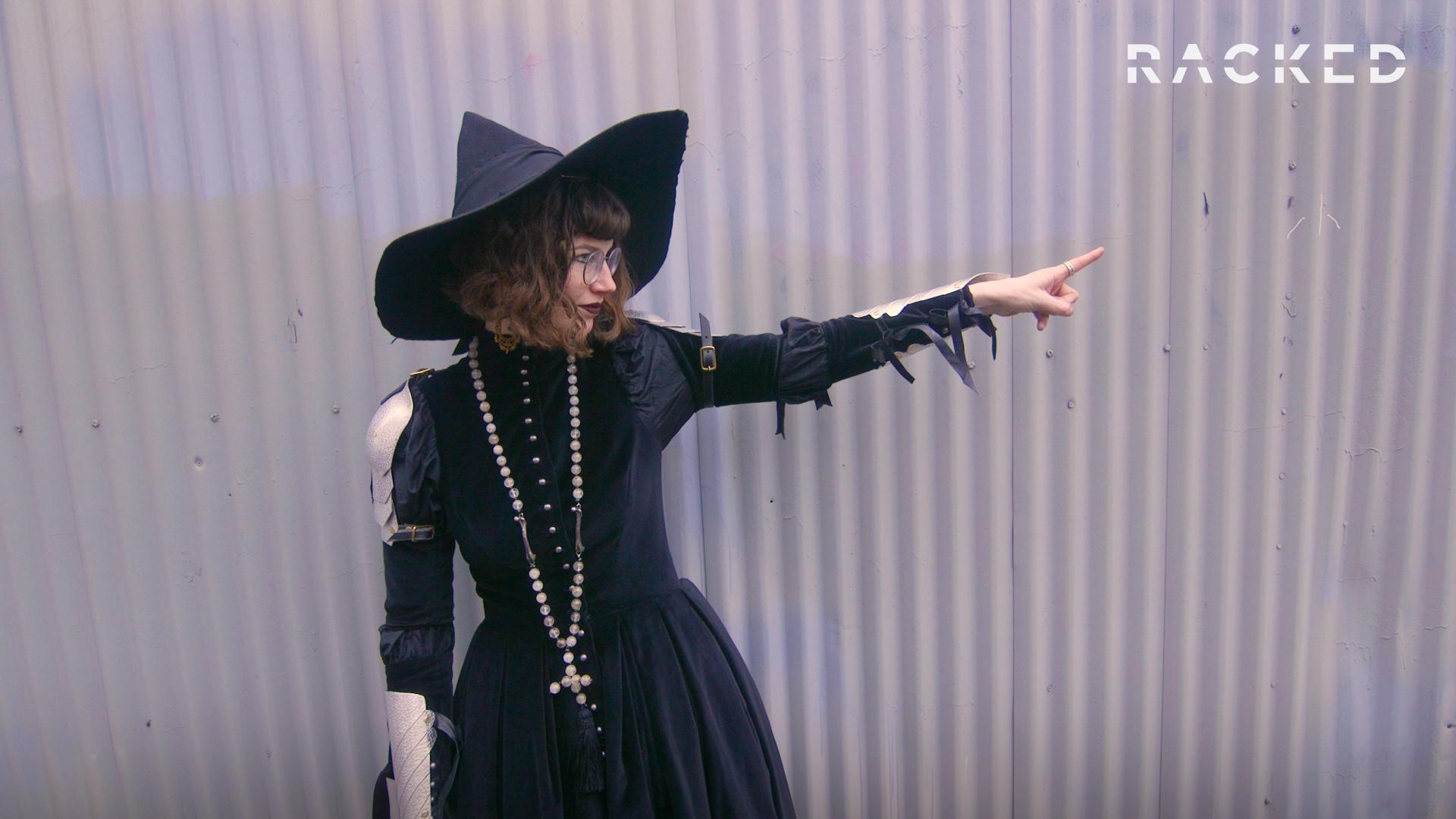 "Kelsey Hine, self-identified ""battle witch"""