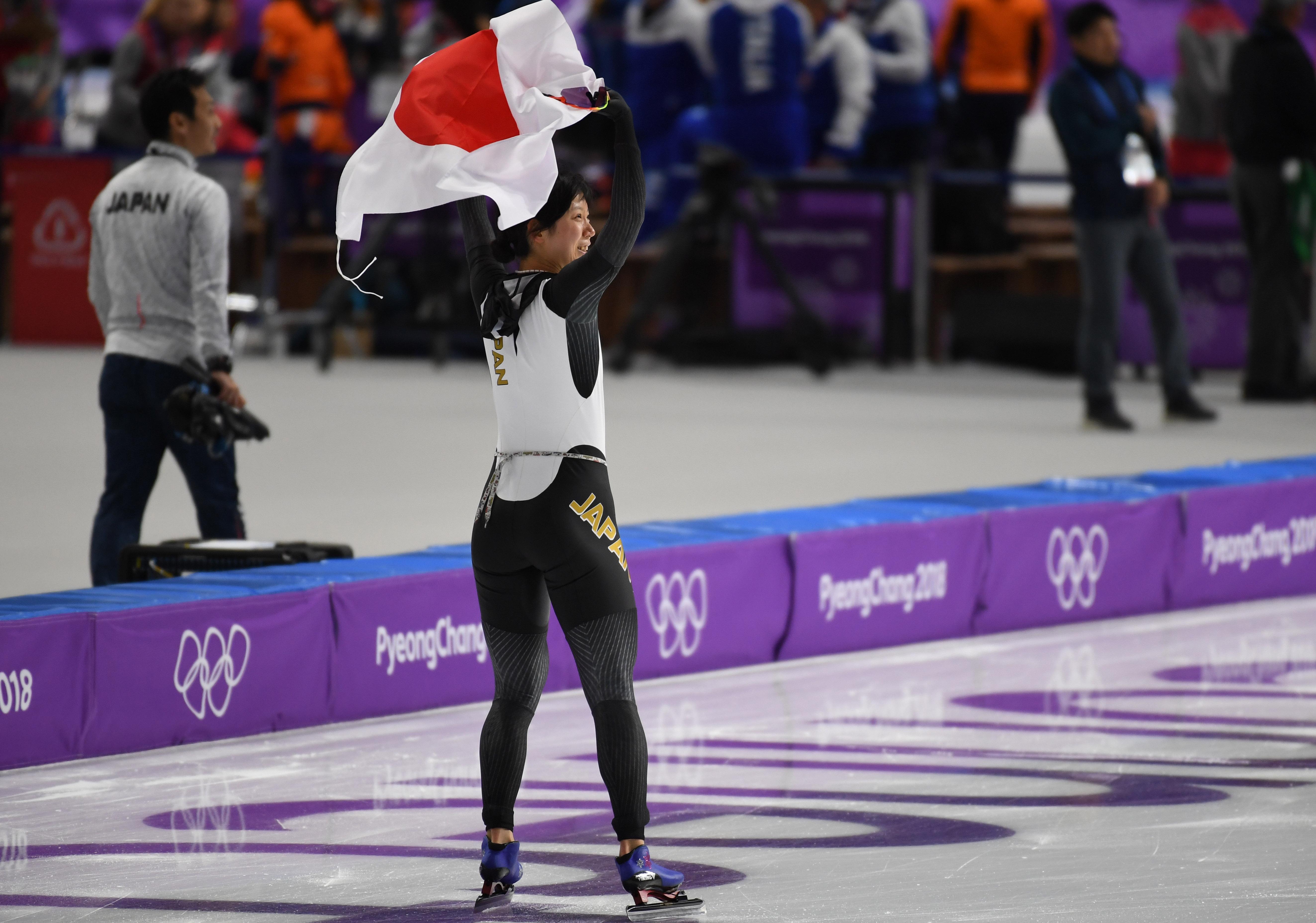 Olympics: Speed Skating-Womens 1500m