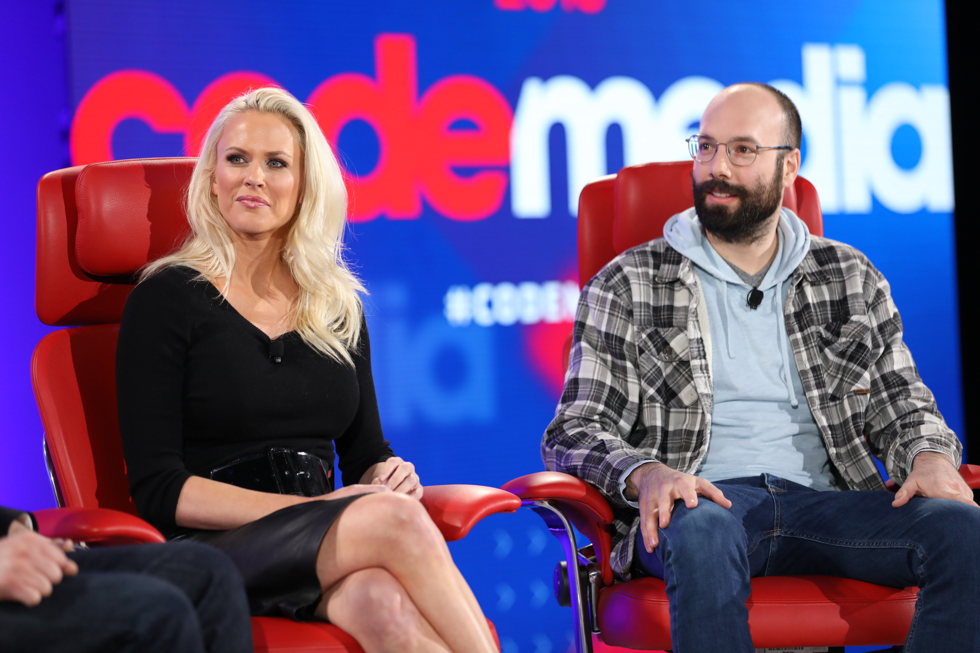 Patreon CEO Jack Conte and Susie Meister of MTV's 'Road Rules'