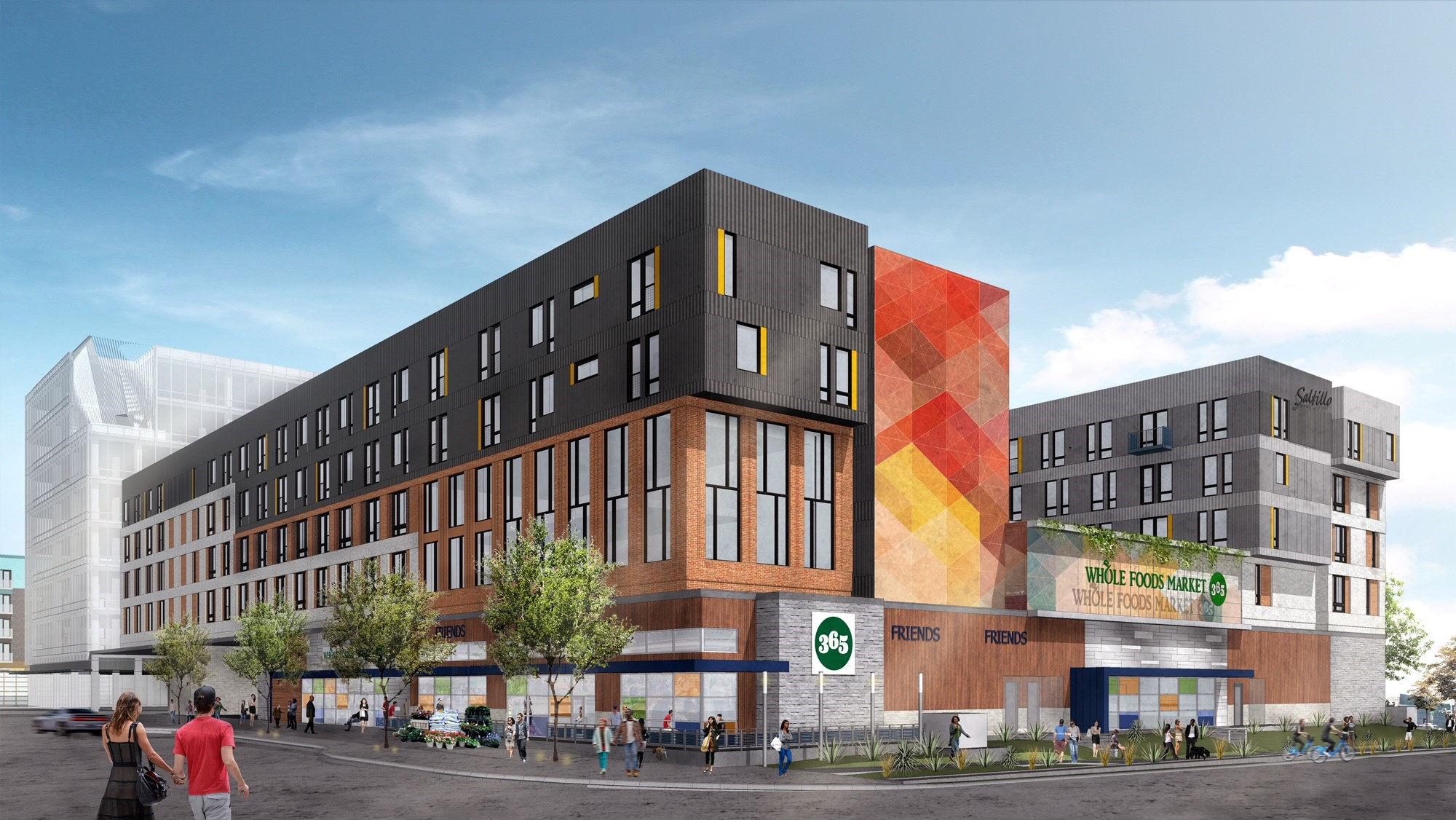 Rendering of Whole Foods Market 365 at Plaza Saltillo