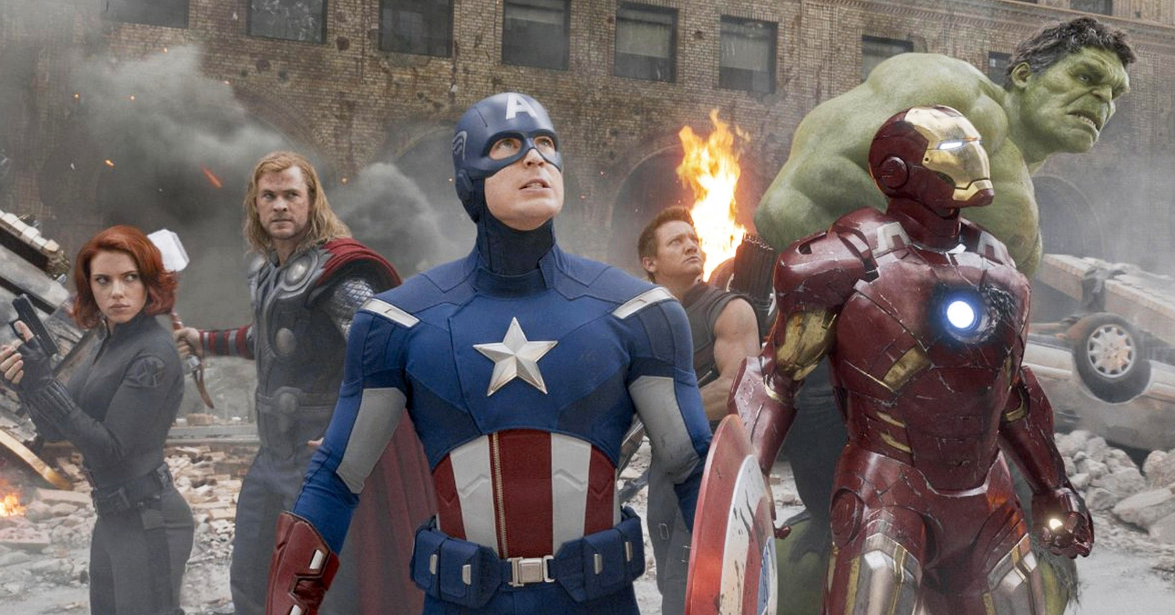 The Original Six Members of the Avengers in MCU