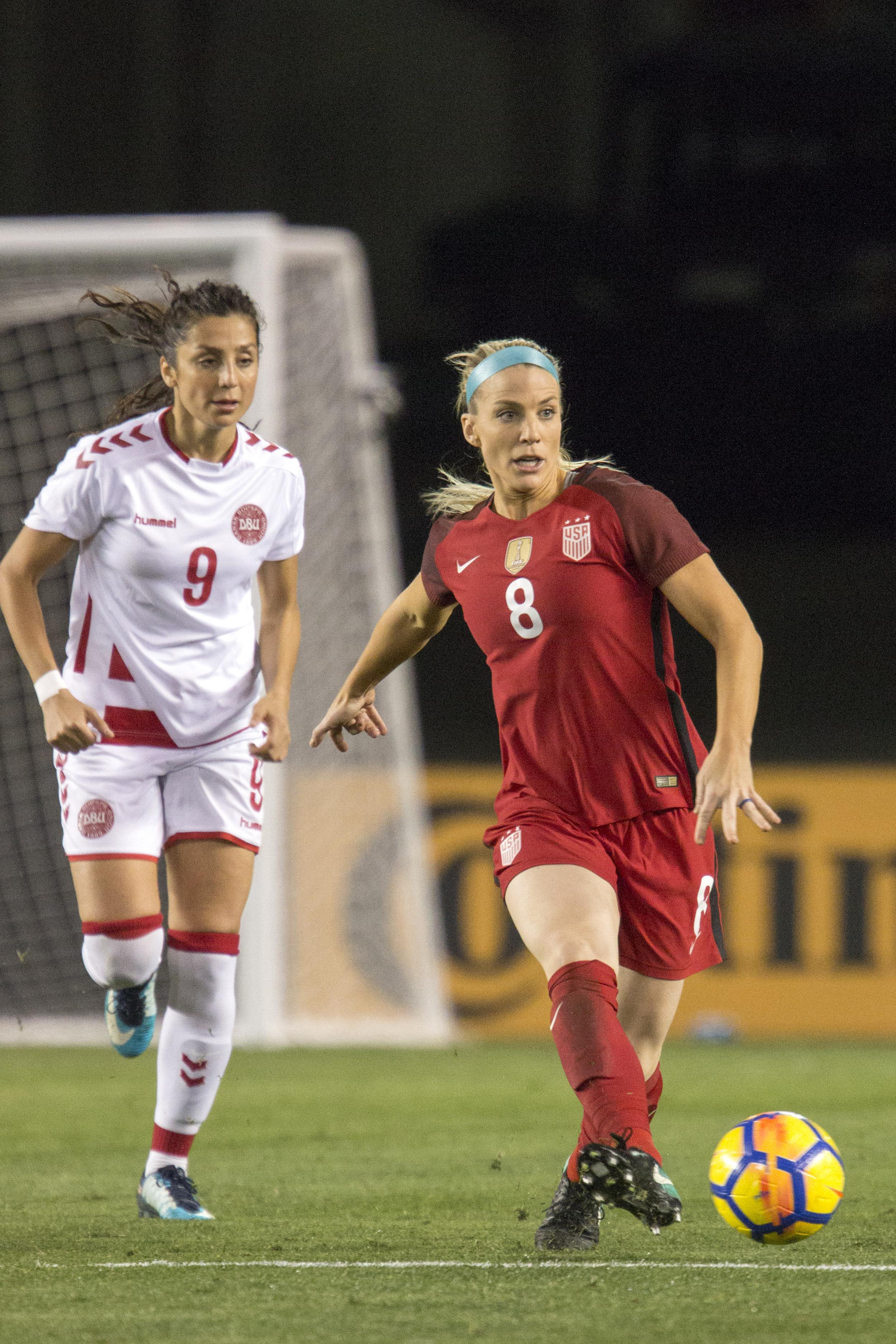 SOCCER: JAN 21 Women's - Denmark v USA