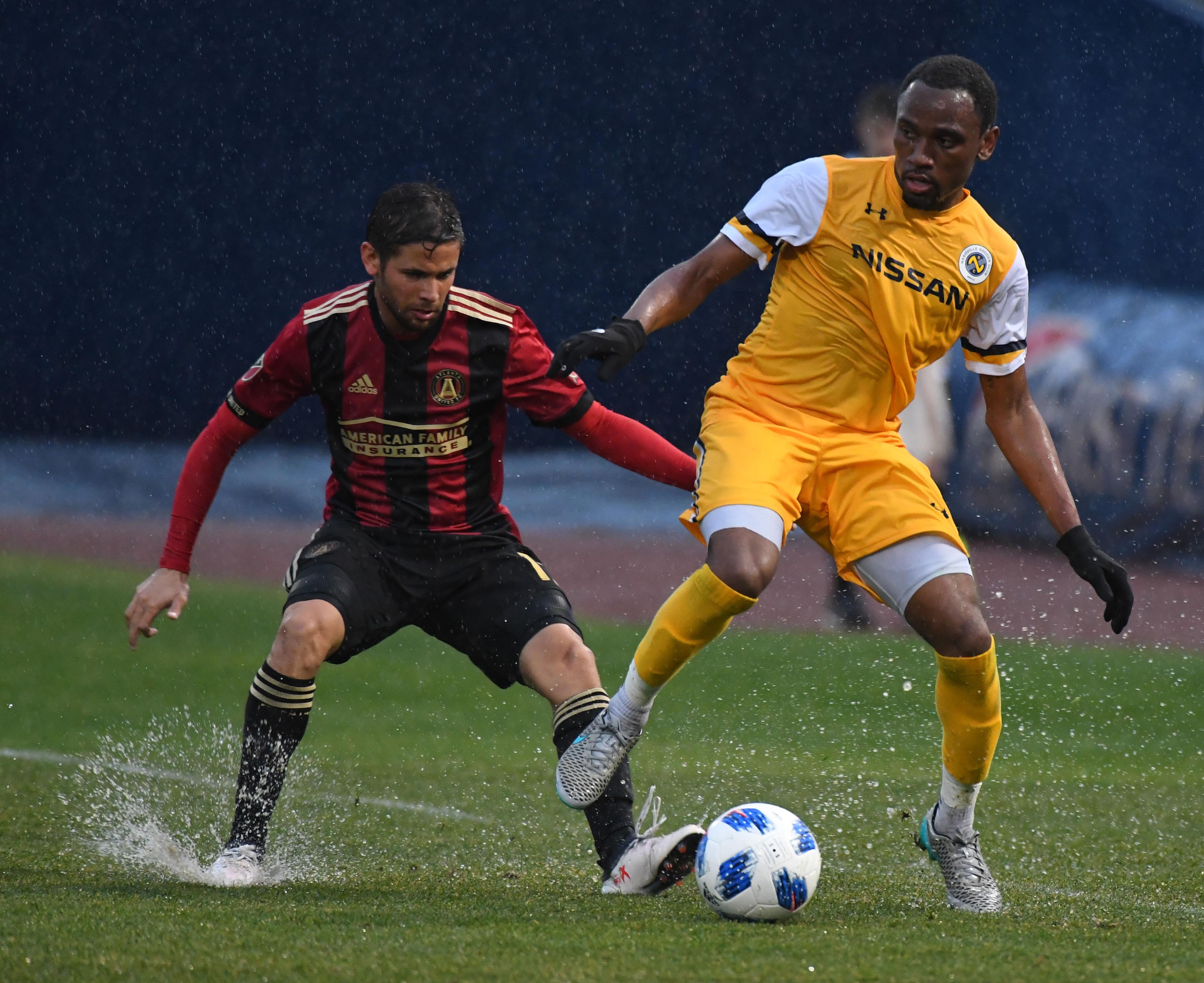 MLS: Preseason Friendly-Nashville SC vs Atlanta United FC