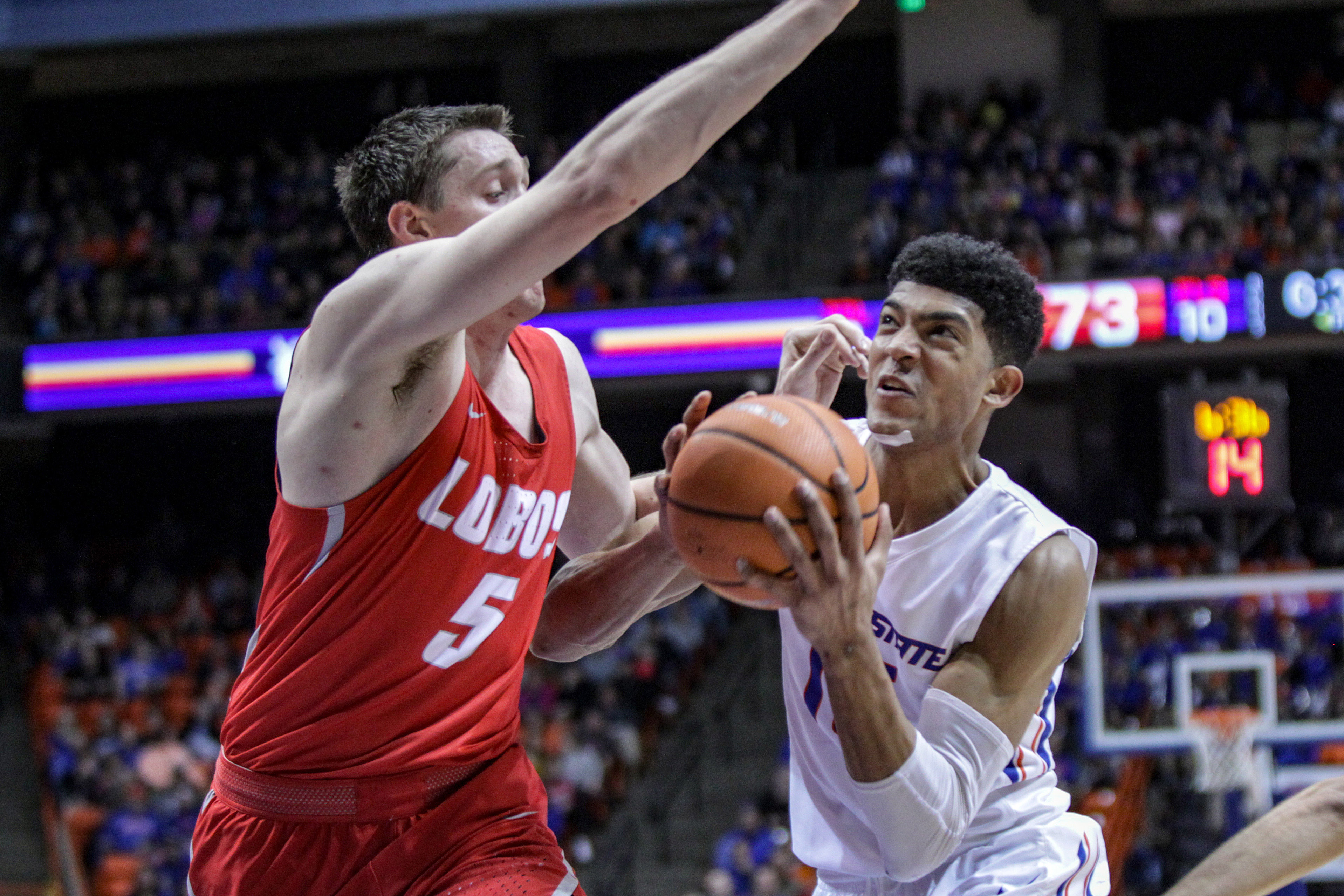NCAA Basketball: New Mexico at Boise State