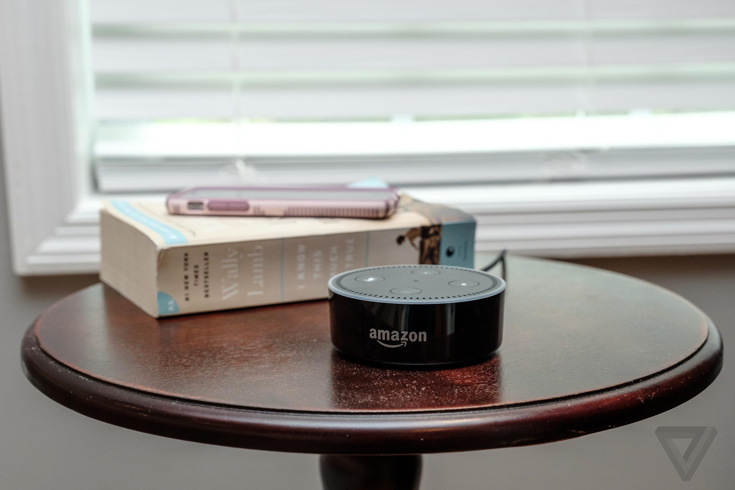 Amazon owns my Echo I m just feeding it