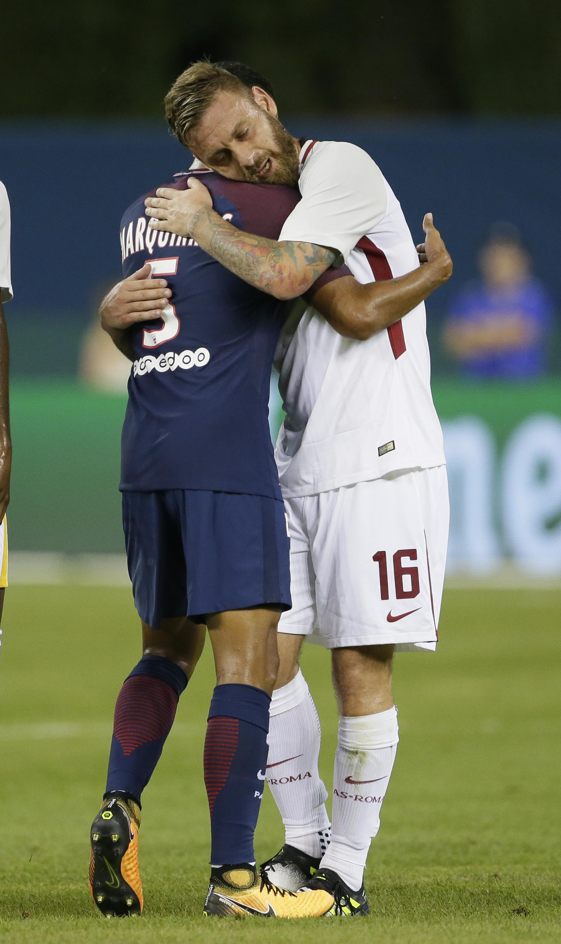 International Champions Cup 2017 - AS Roma v Paris Saint-Germain