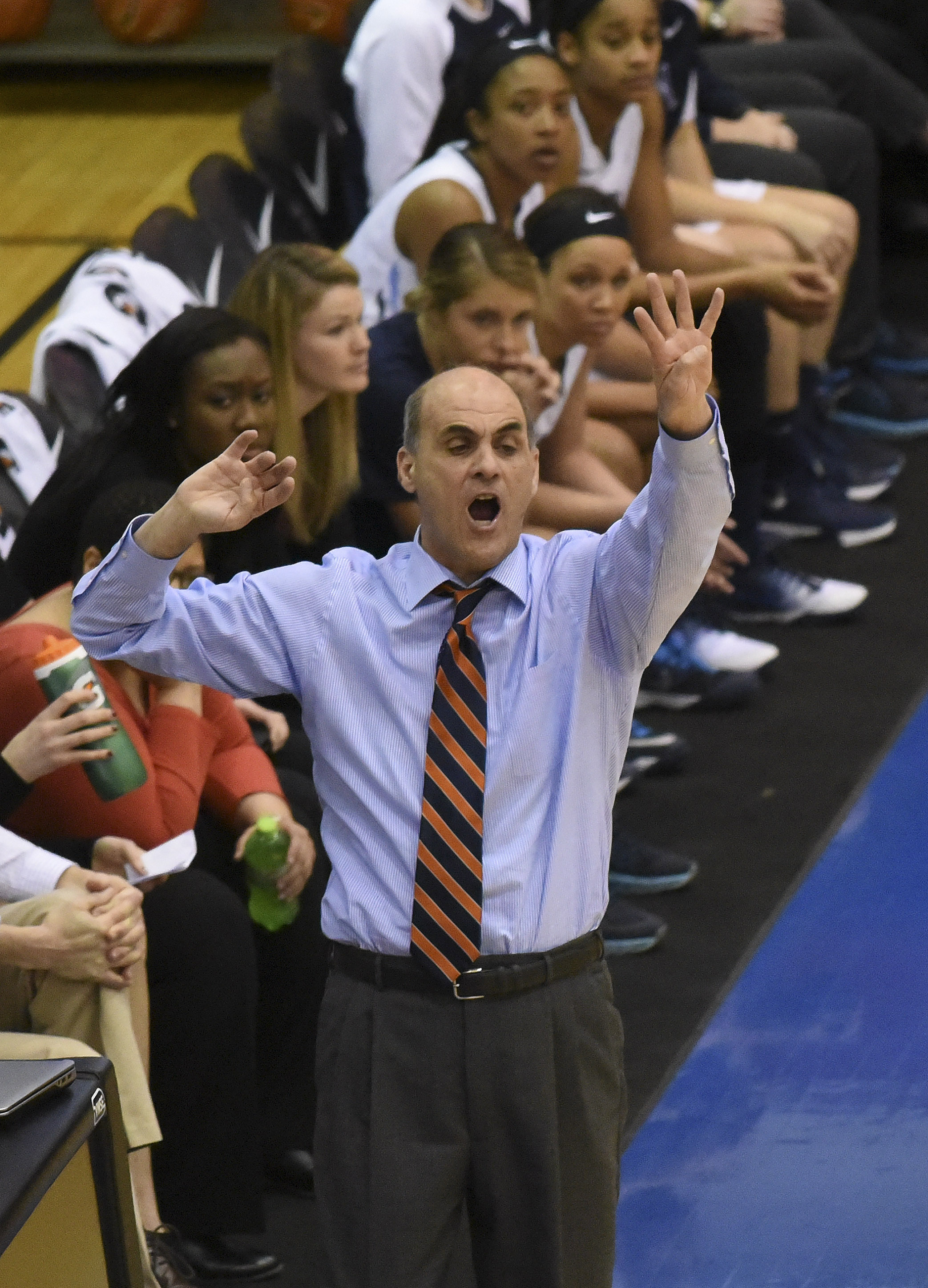 NCAA Womens Basketball: Big East Conference Tournament-Villanova vs Creighton