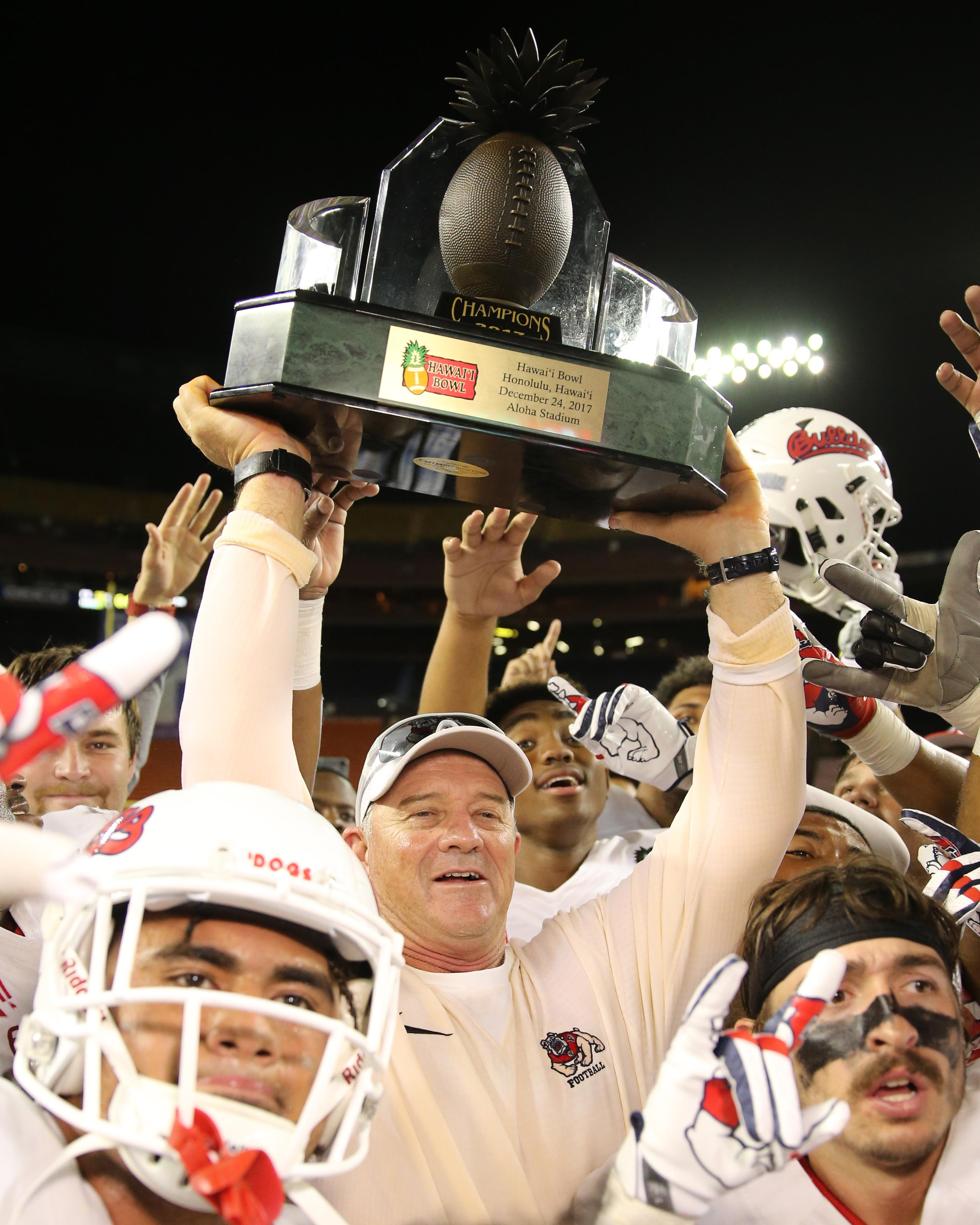 NCAA Football: Hawaii Bowl-Fresno State vs Houston