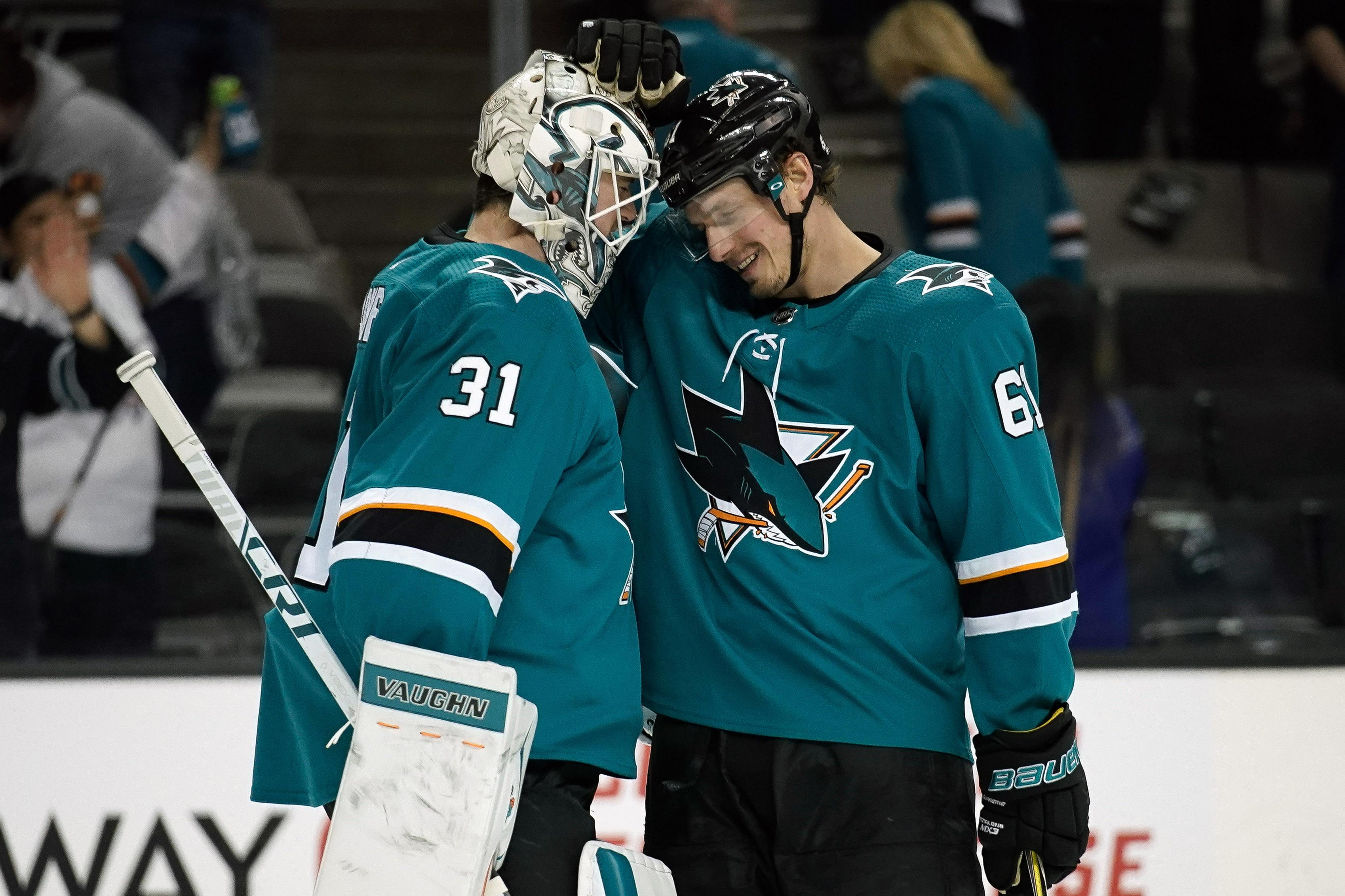 NHL: Vancouver Canucks at San Jose Sharks