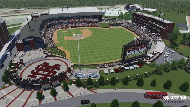 Dudy Noble Field Master Plan Rendering
