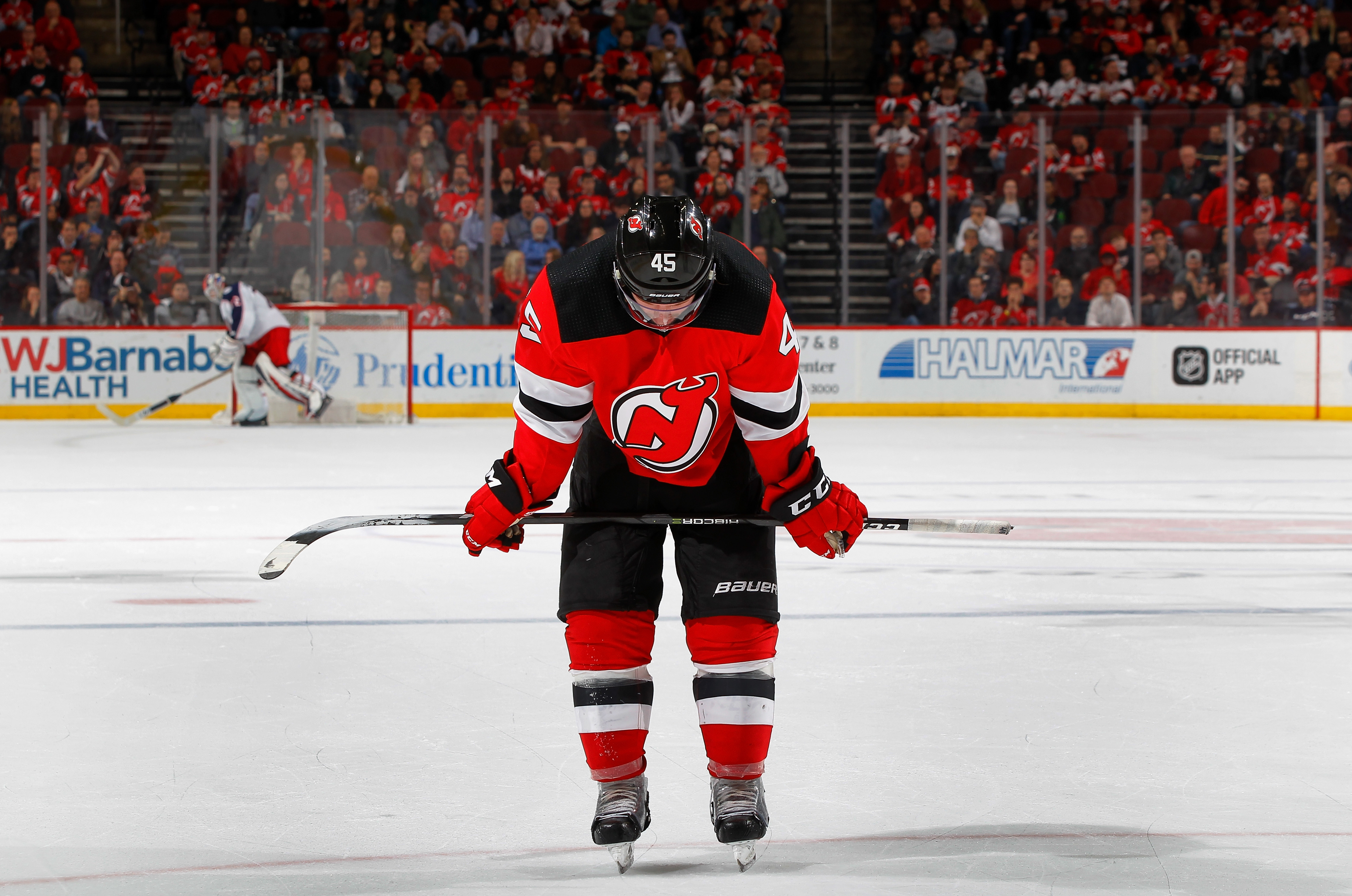 a301bc8e7 ... home nhl jersey eae57 3519b e902e  uk new jersey devils win streak  snapped in close loss to columbus blue jackets c5d4d 8f59d