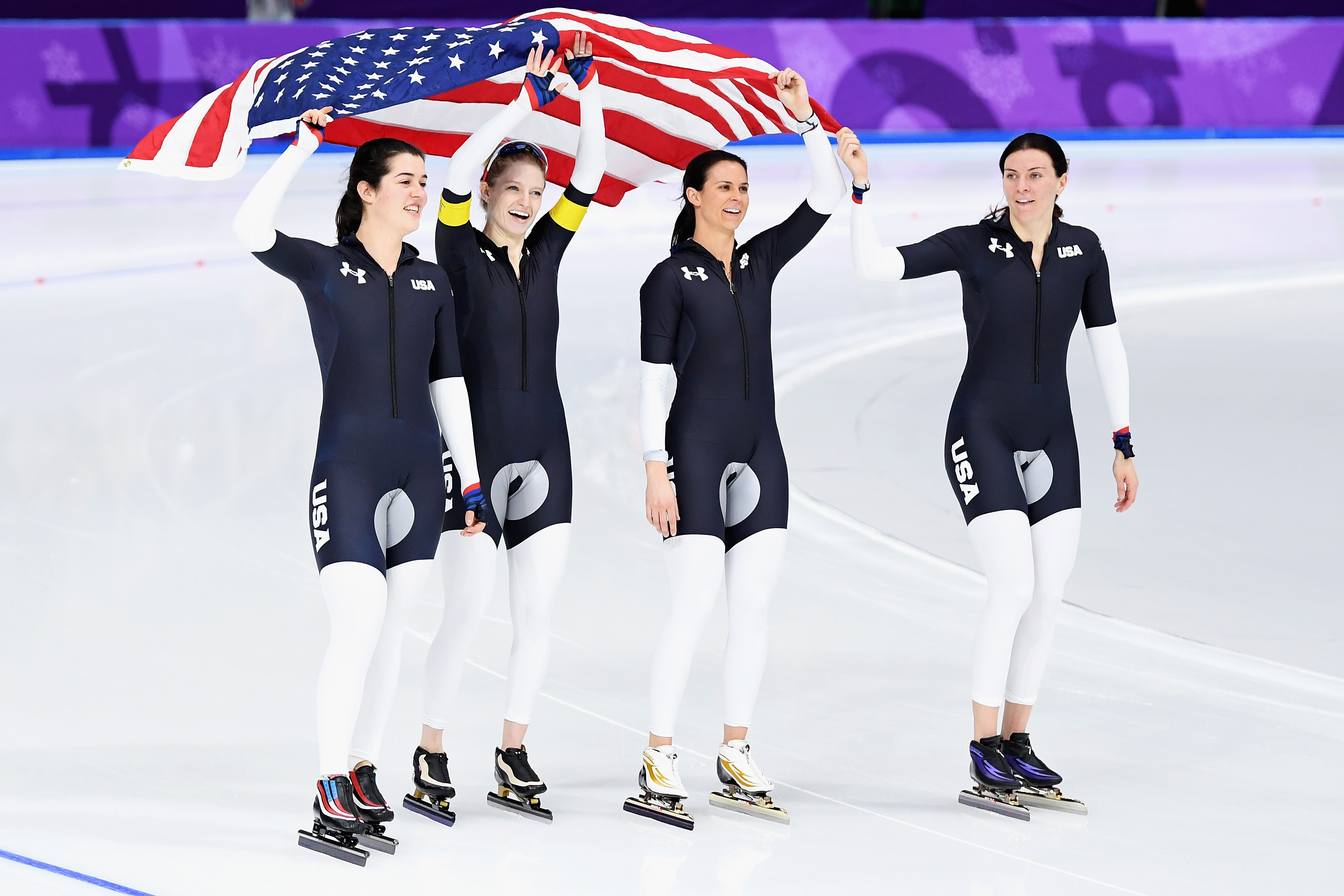 Speed Skating - Winter Olympics Day 12