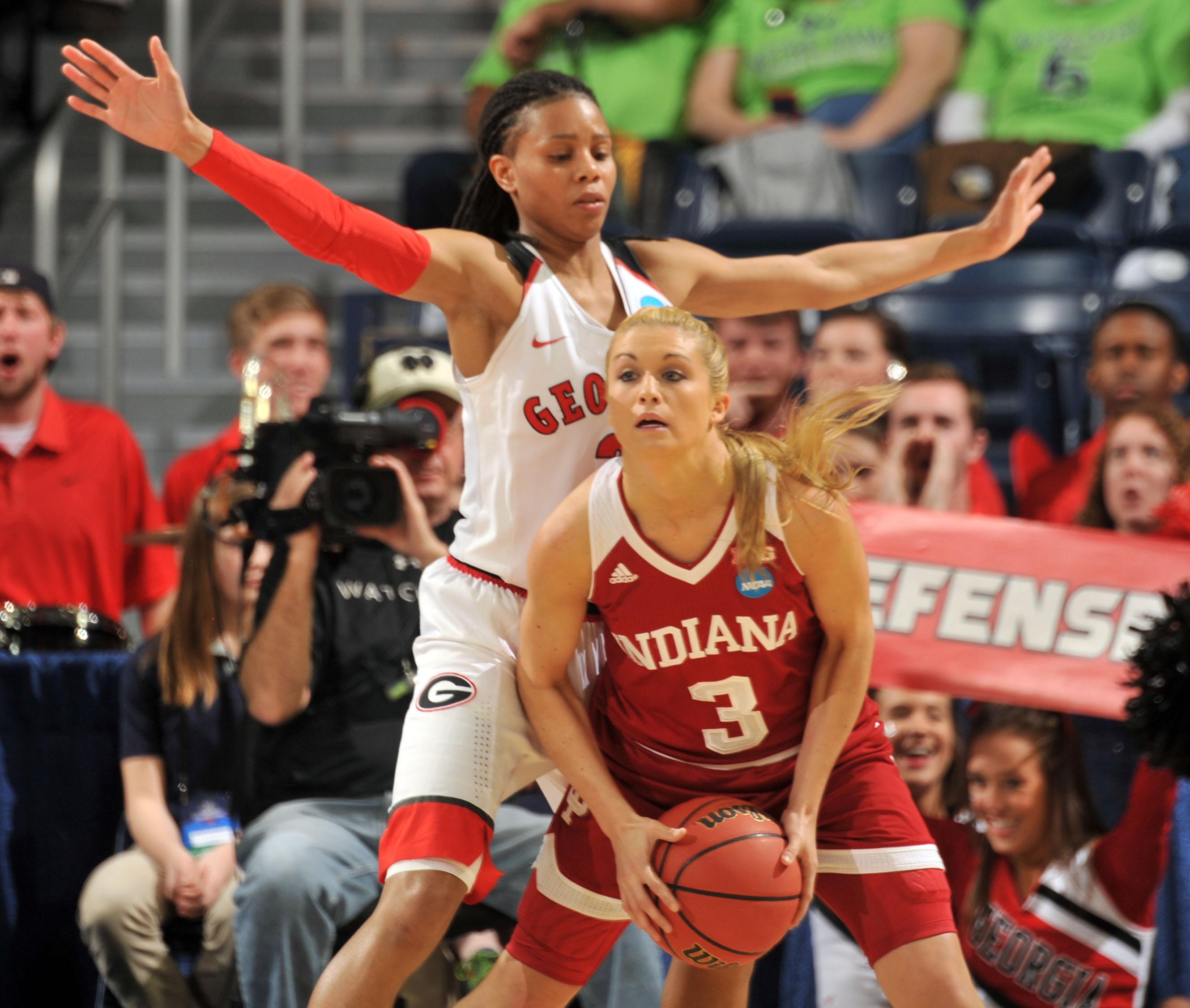 NCAA Womens Basketball: NCAA Tournament-First Round-Indiana vs Georgia